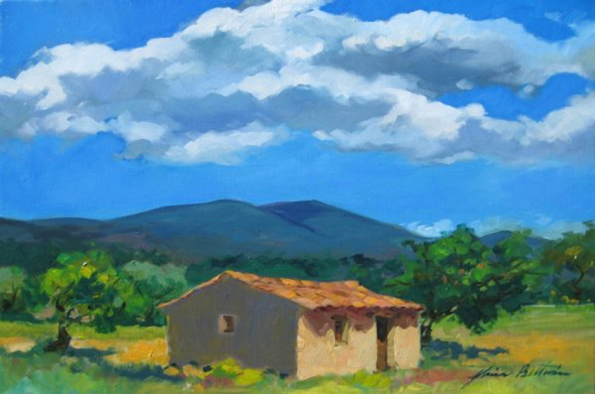 Bertran: Under The Summer Sky, Provence by Maria Bertrán