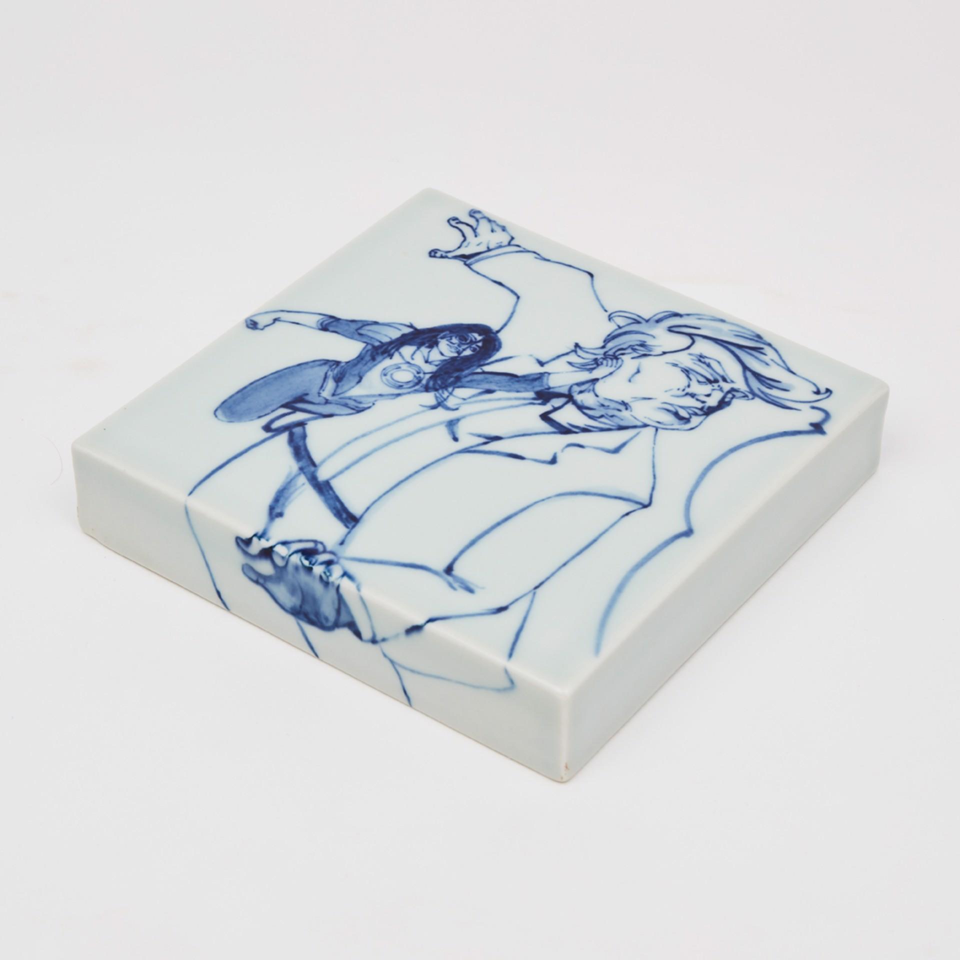 """6"""" tile 2 by Shoji Satake"""