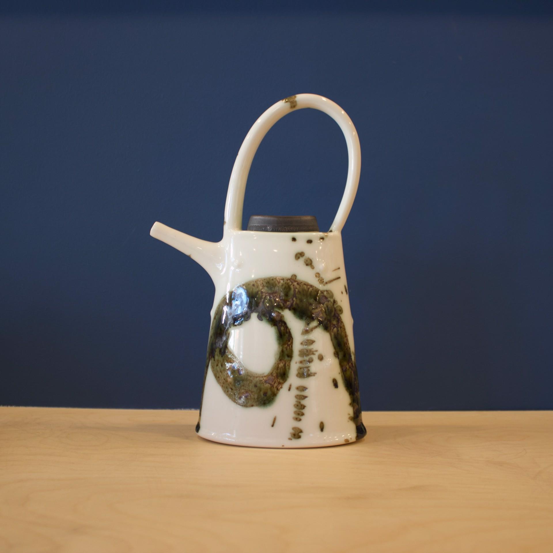 Splash Oval Teapot by Patricia Thom