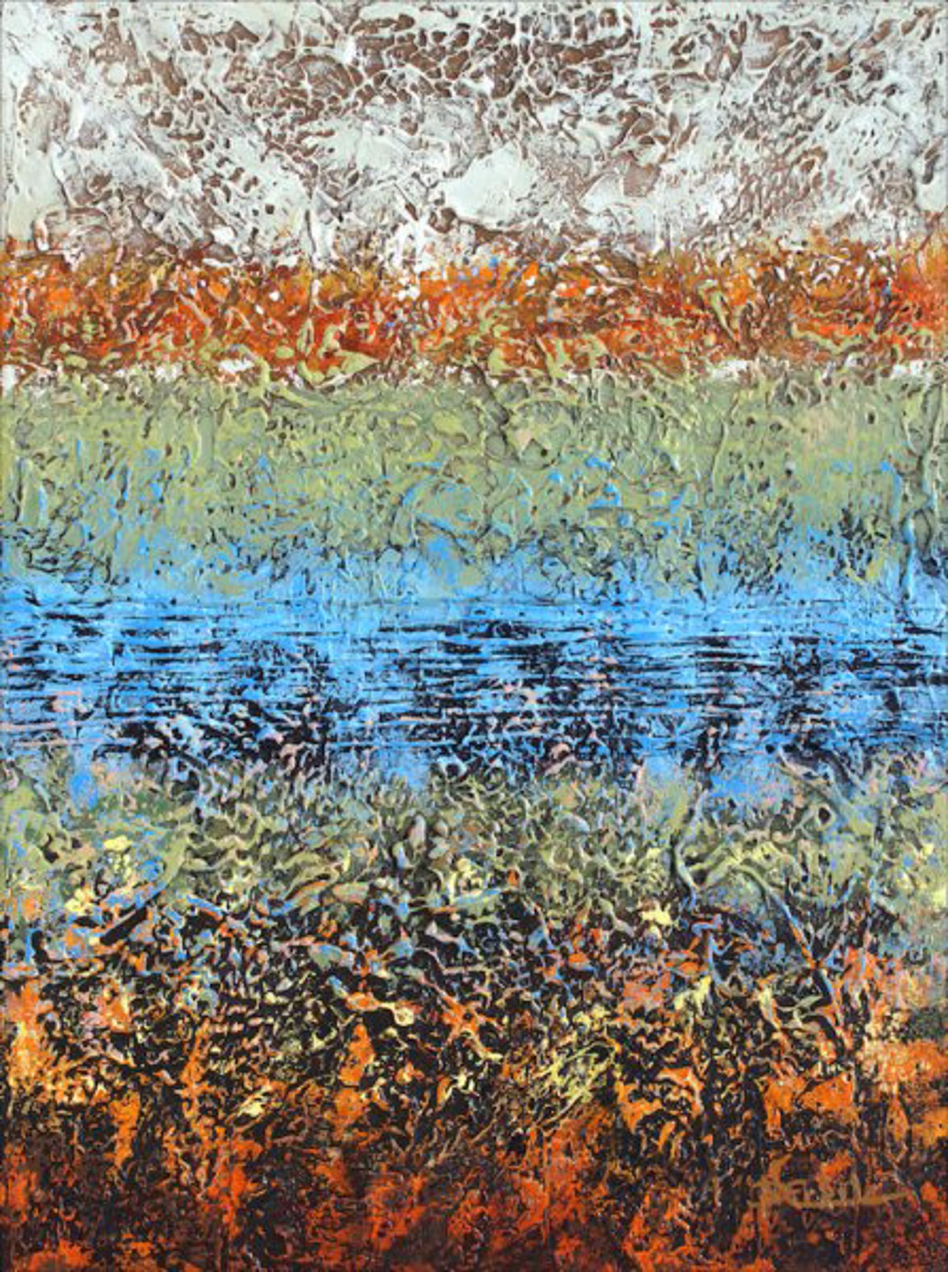 Hidden Pond by Nancy Eckels