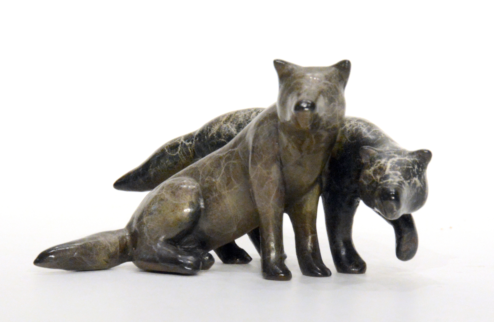 Date Night (Wolves) by Eric Wilcox