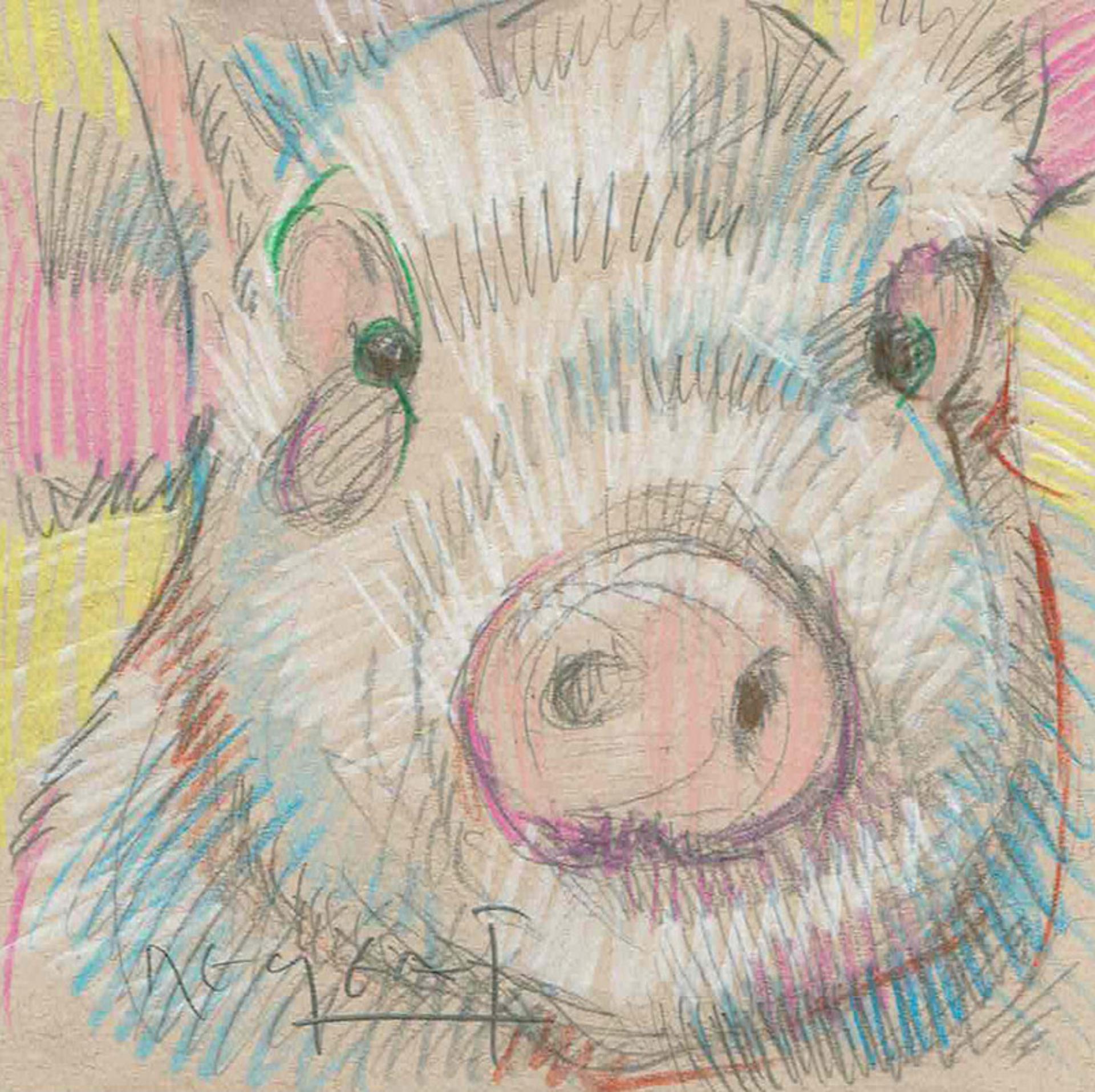 Mini Farm: Pig No. 7 by Tim Jaeger