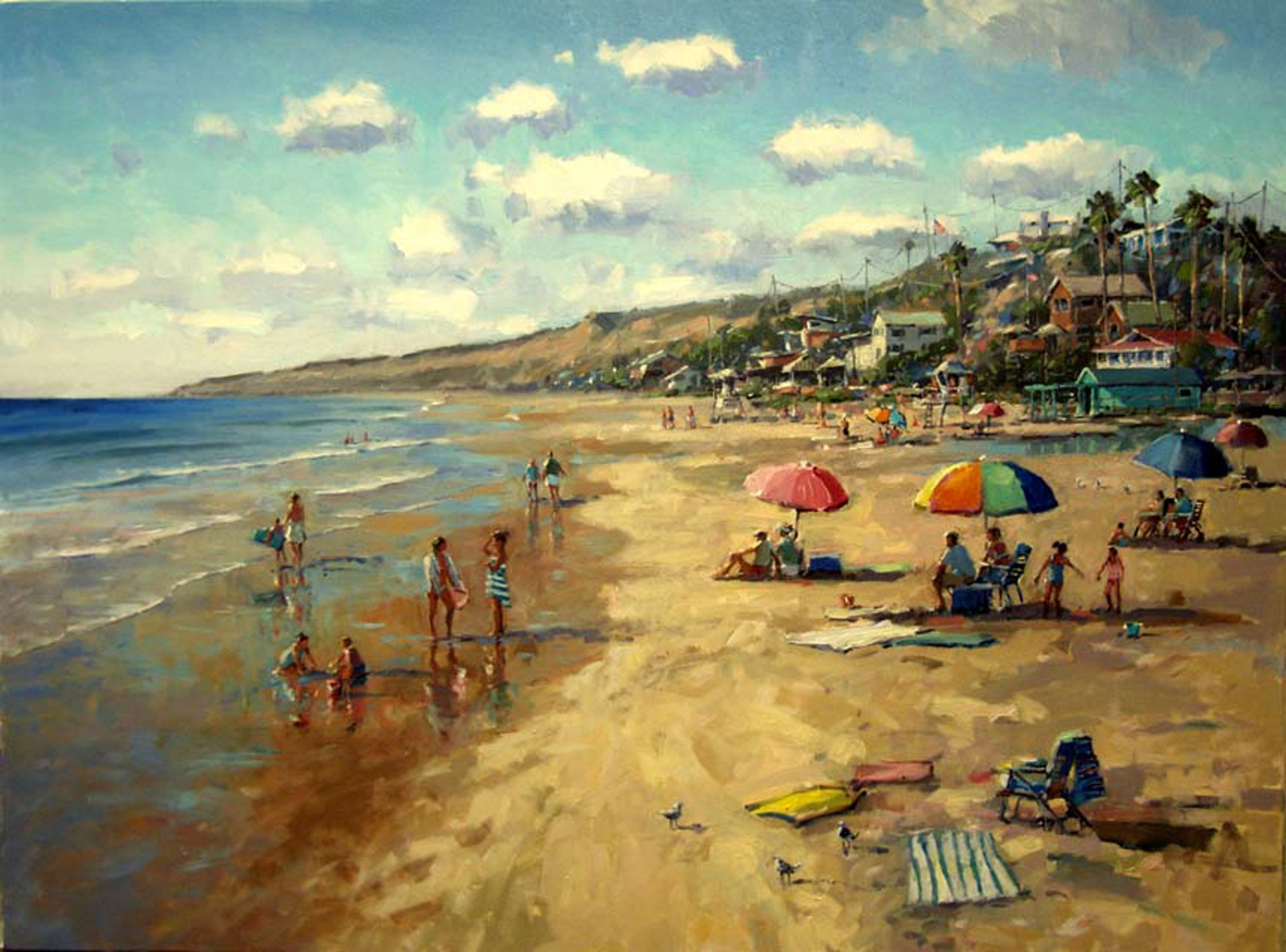 Fun In The Sun, Crystal Cove by Ronaldo Macedo