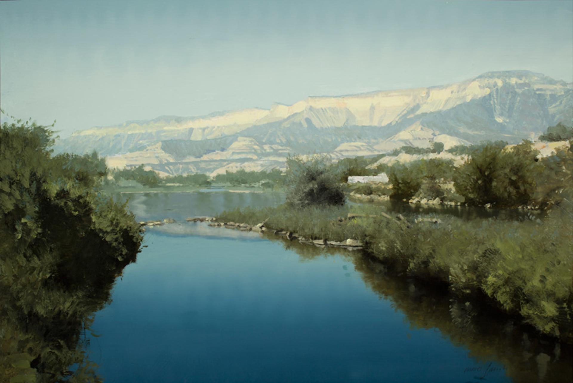 Colorado River near Rifle by Daniel Sprick