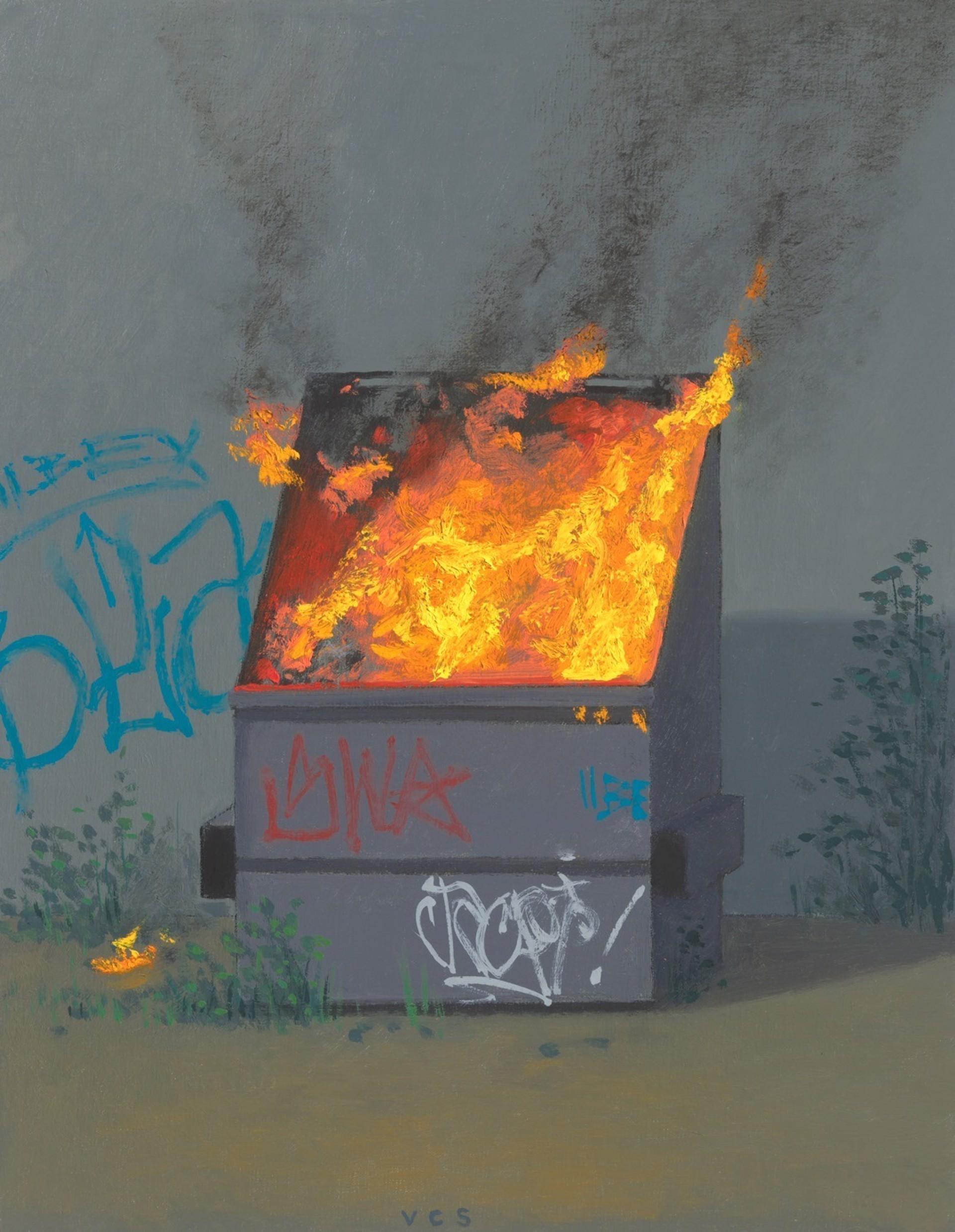 Dumpster Fire II by Vonn Cummings Sumner