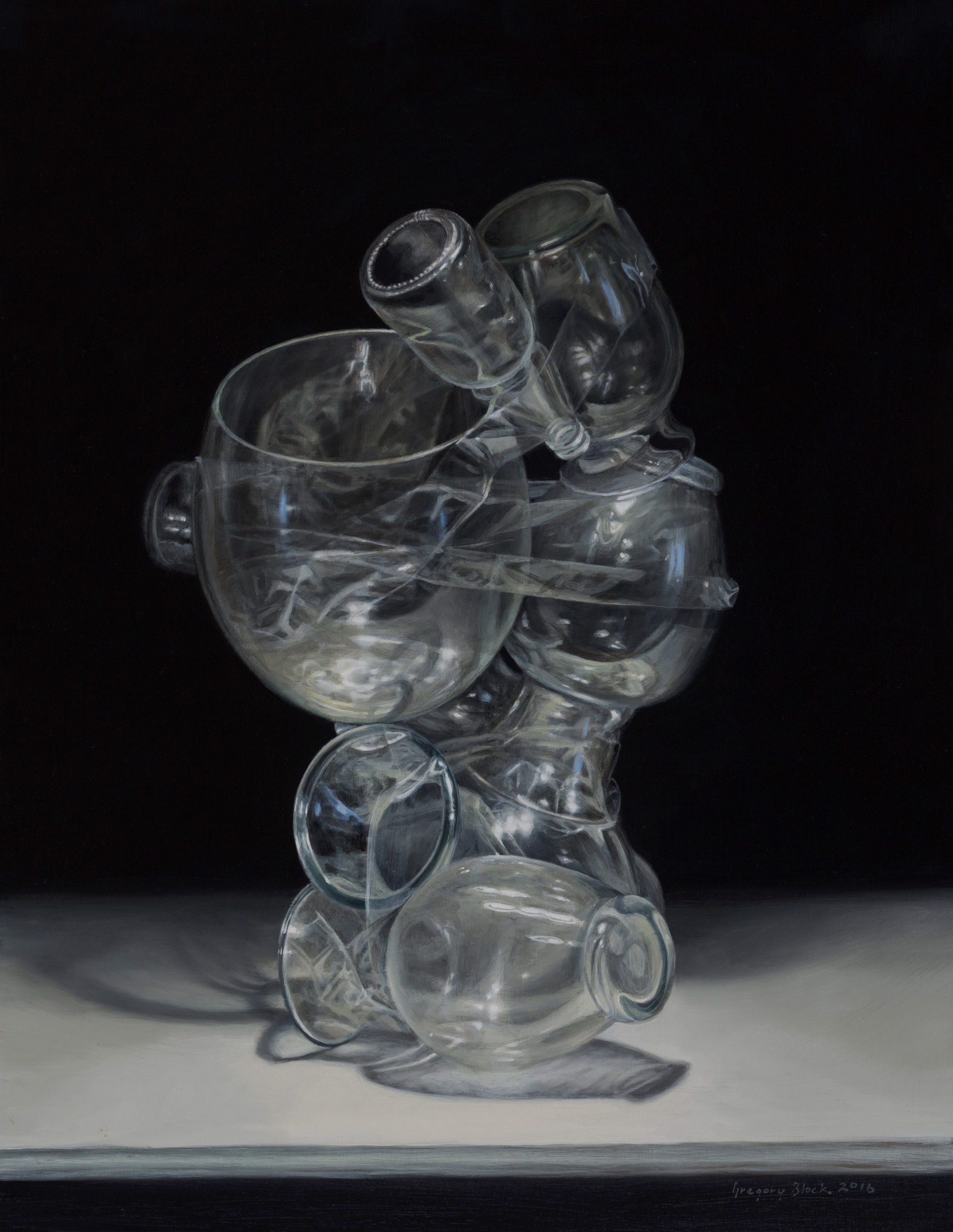Glass Bouquet by Gregory Block