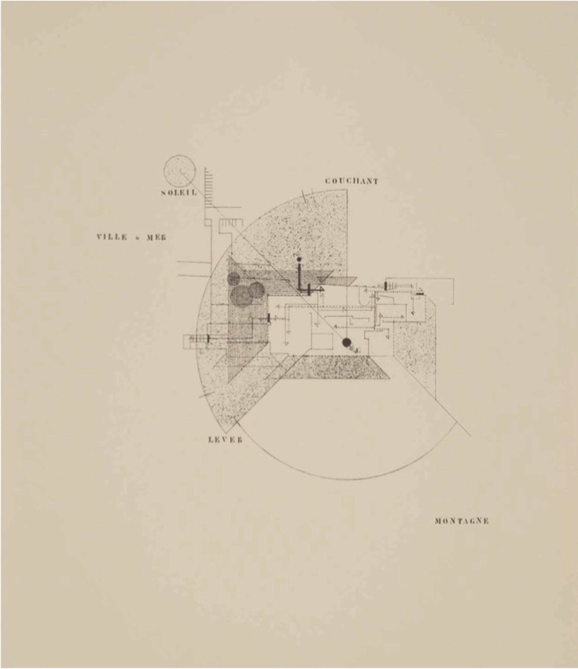 Untitled (Tempe a Pailla) by Eileen Gray