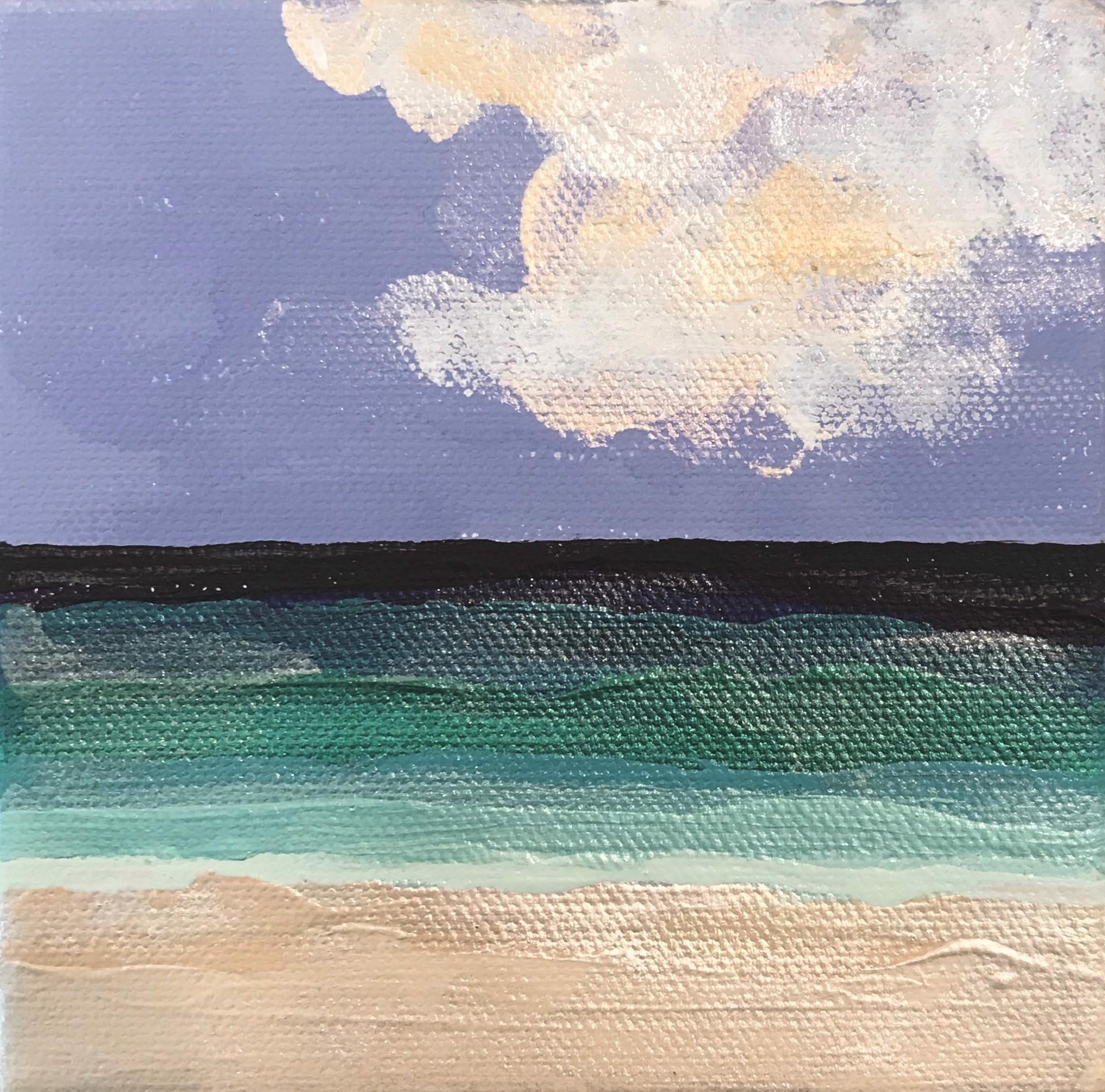Beachfront No. 7 by Leslie Poteet Busker