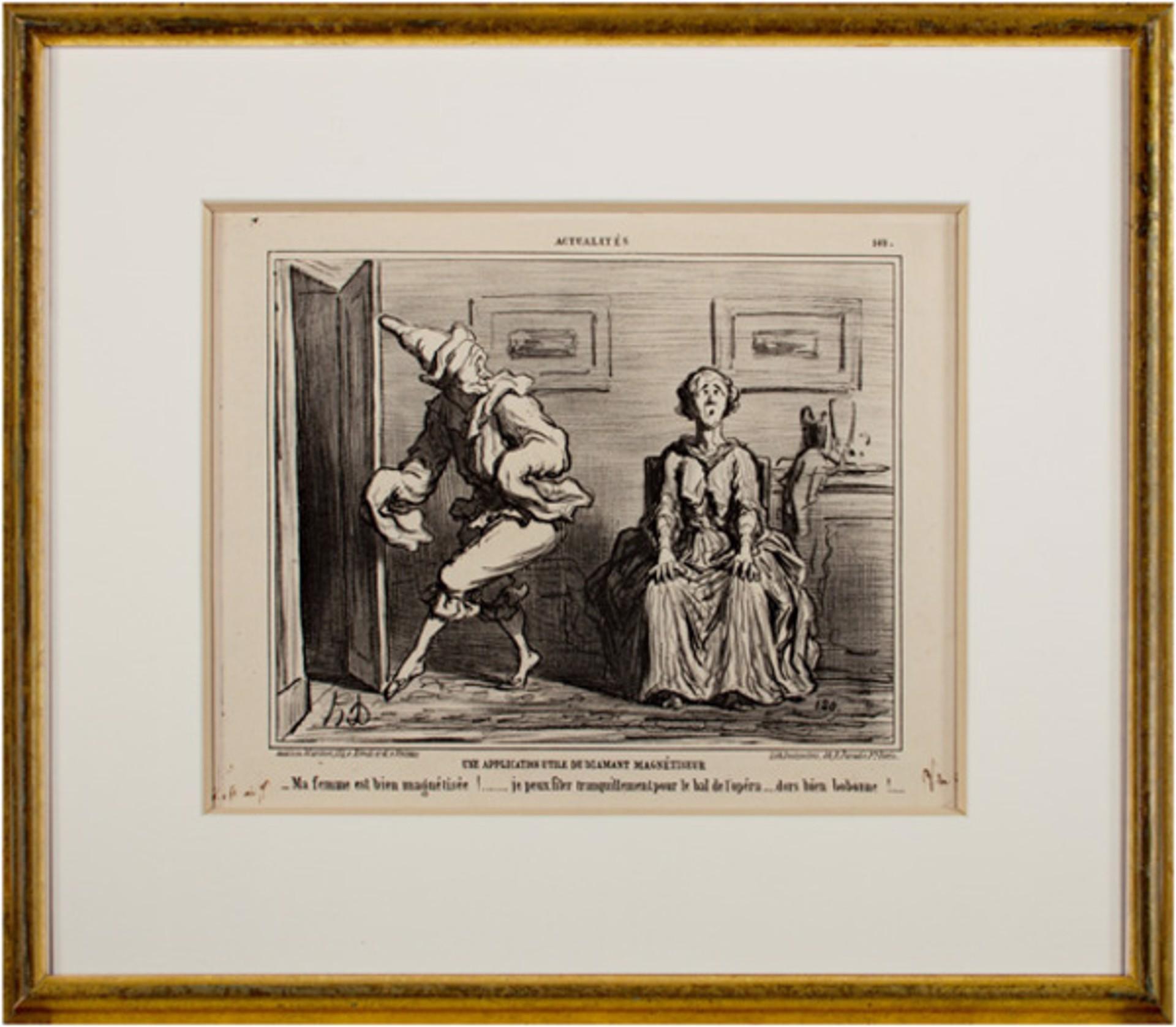 Une Application Utile Du Diamant Magnetiseur-Actualites LD 3230 by Honore Daumier