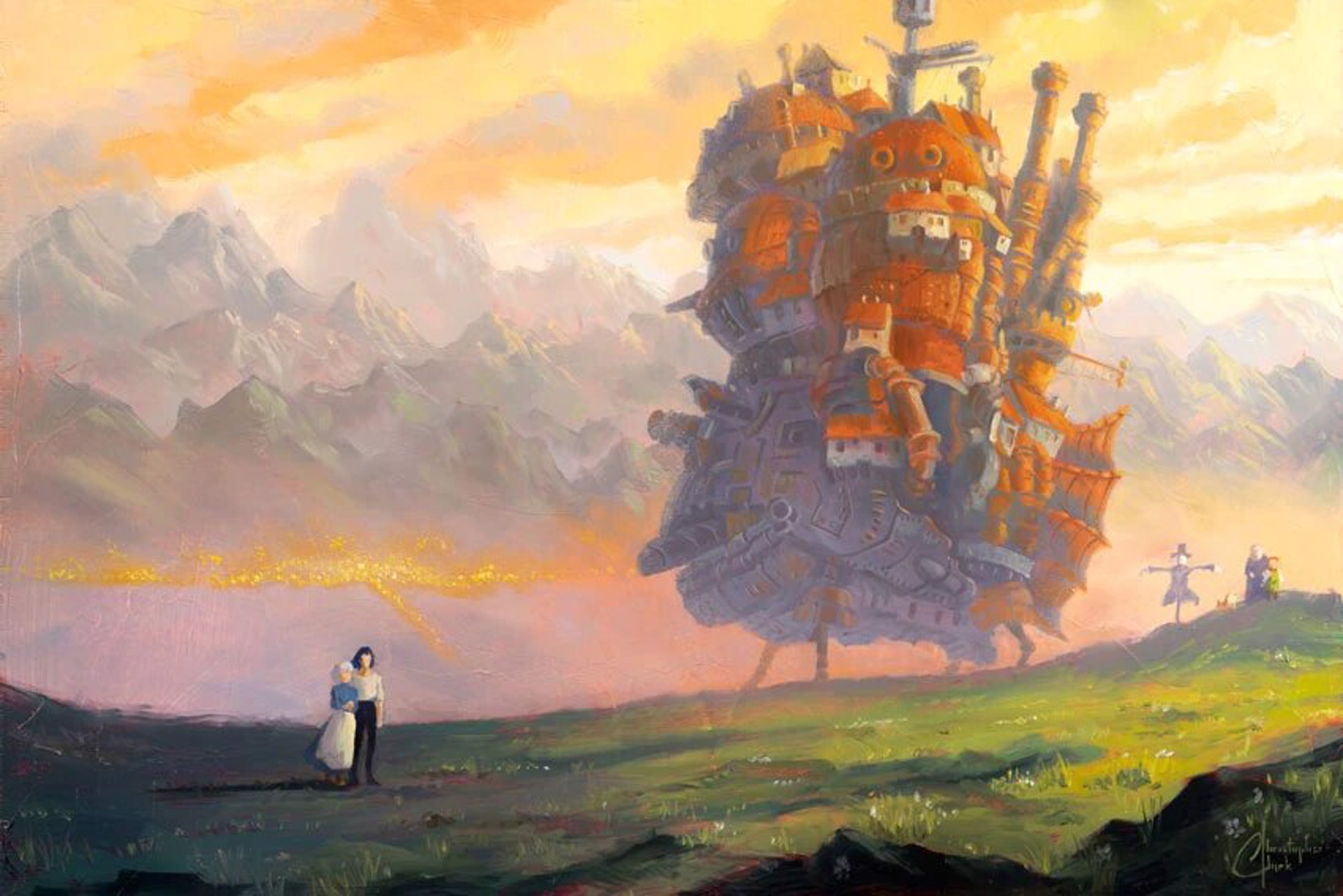 Howl's Moving Castle by Christopher Clark