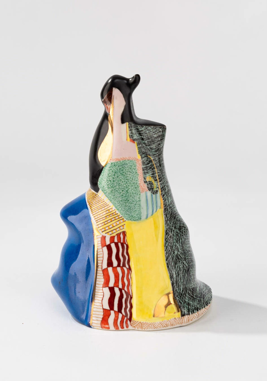 small porcelain figure cloak 1 by Sandra Trujillo