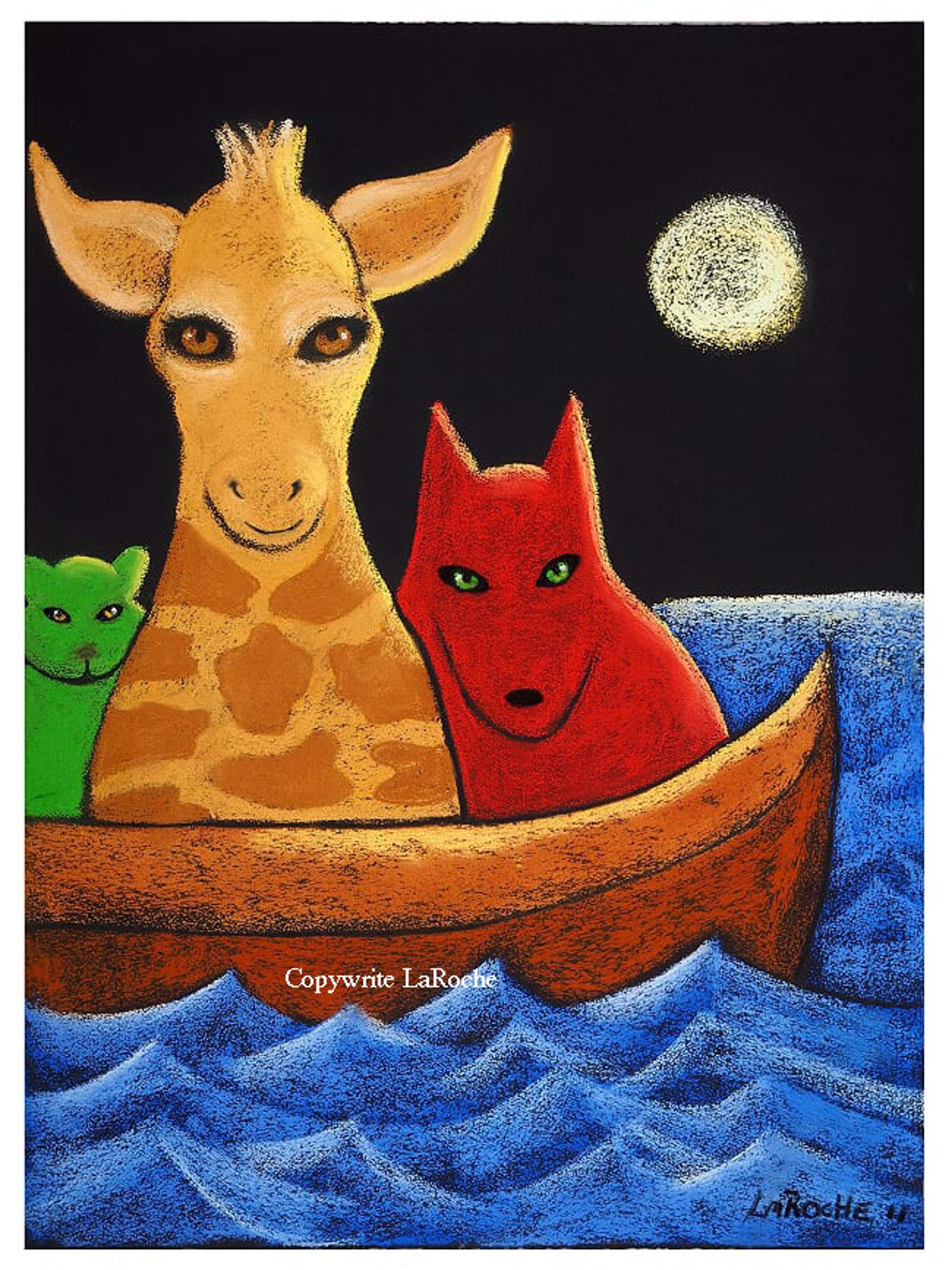 THE ARK / SAILING AWAY by Carole LaRoche
