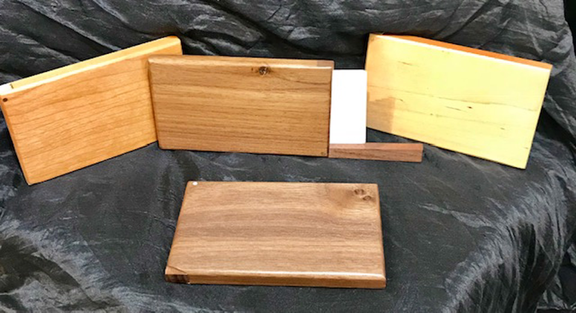 Business Card Holders (Maple, Cherry, Walnut) by Brian Higgins