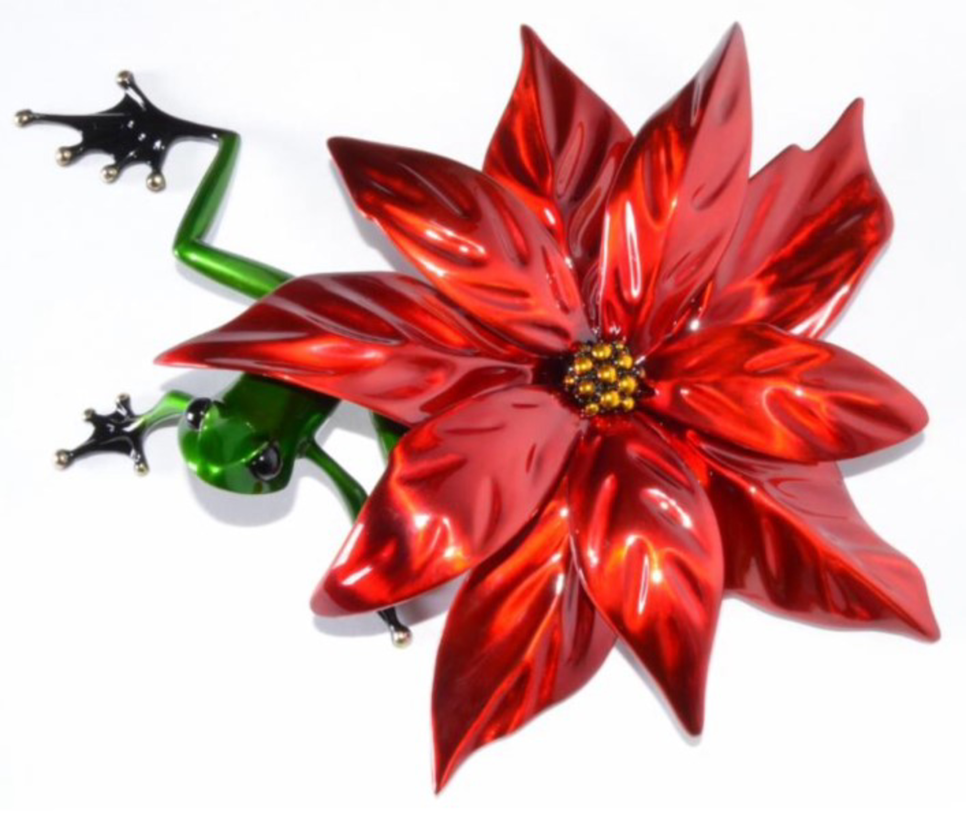Poinsettia by The Frogman