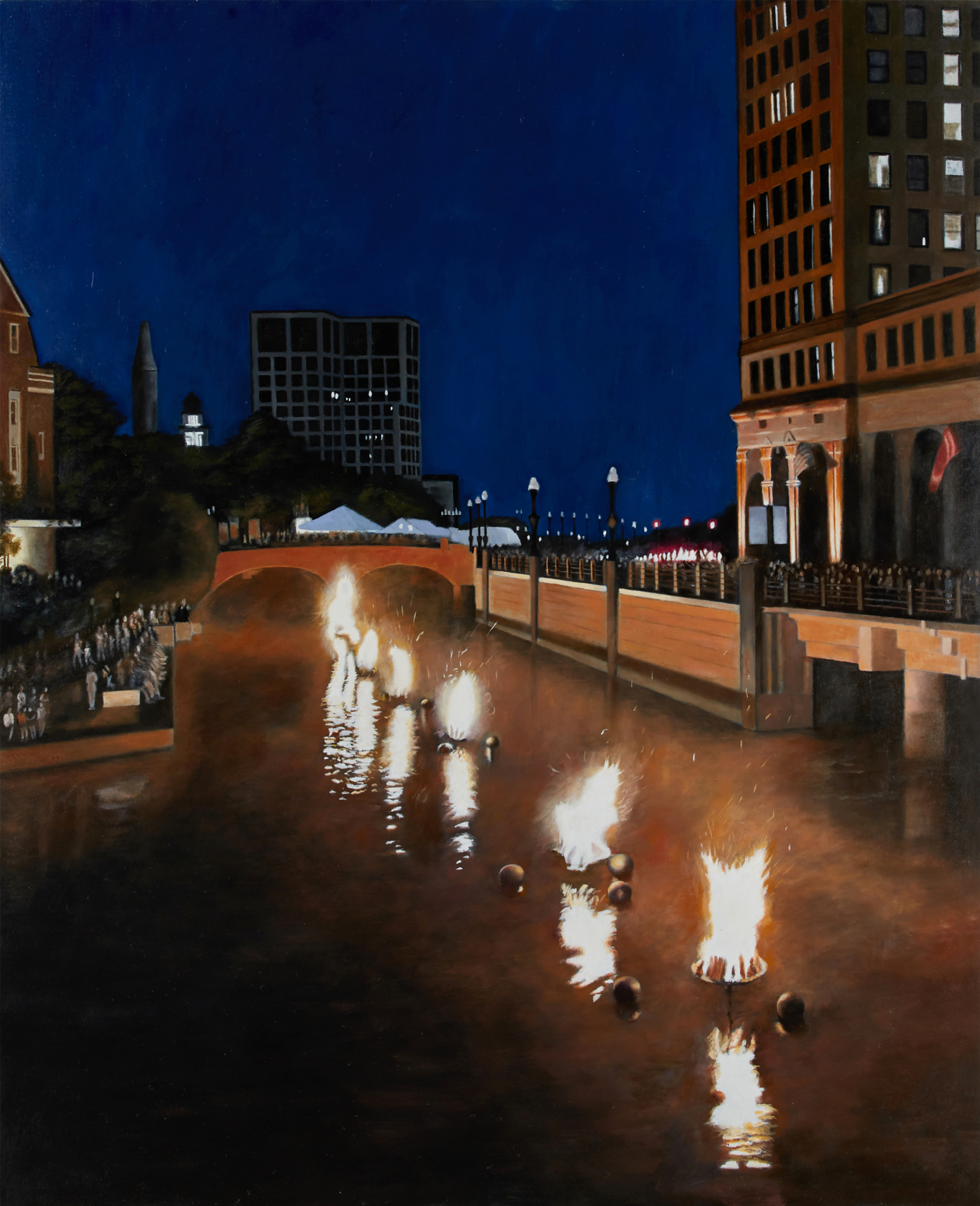 Fire on the Water by Nick Patten