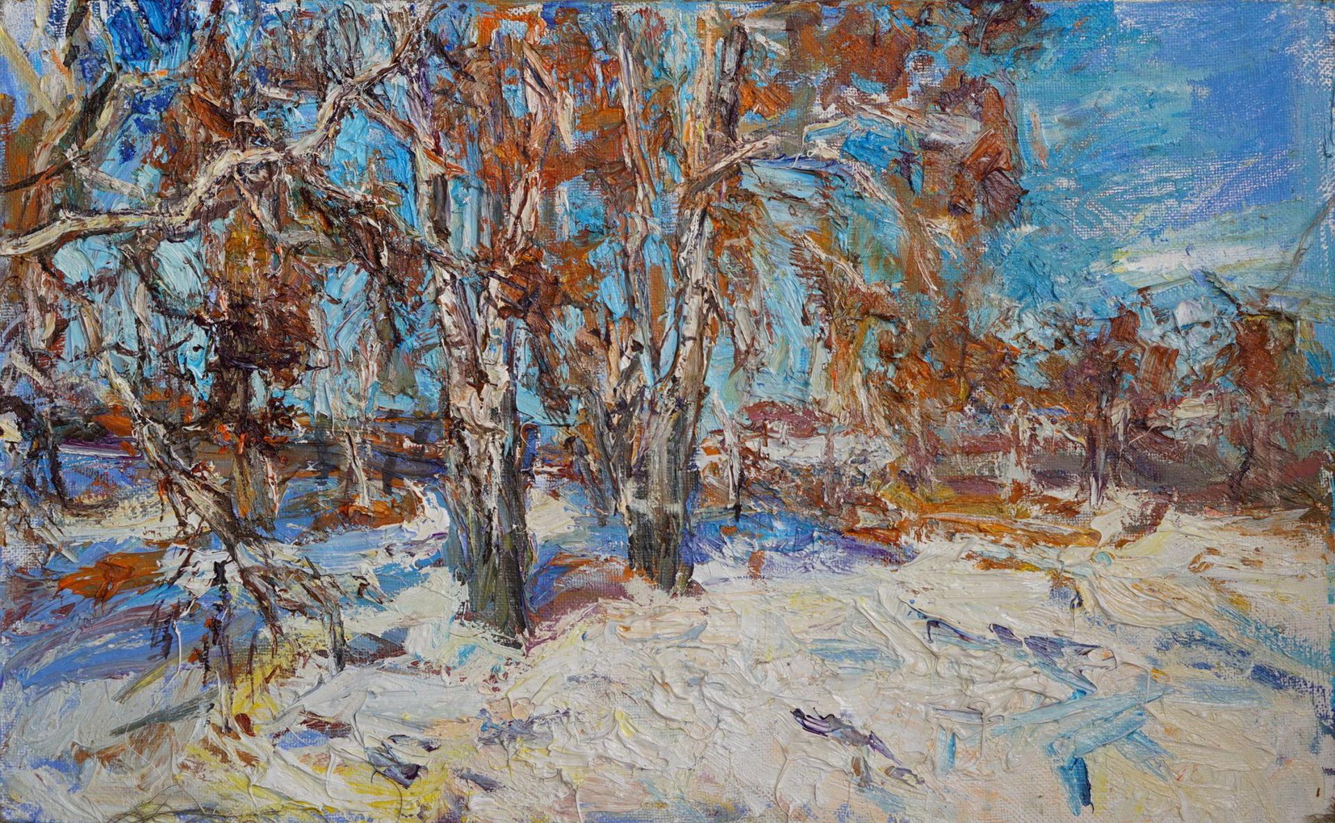Birches by Ulrich Gleiter