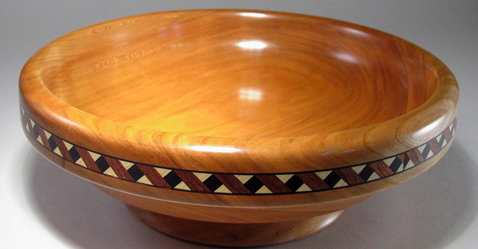 Inlaid Bowl by Bill Wanezek