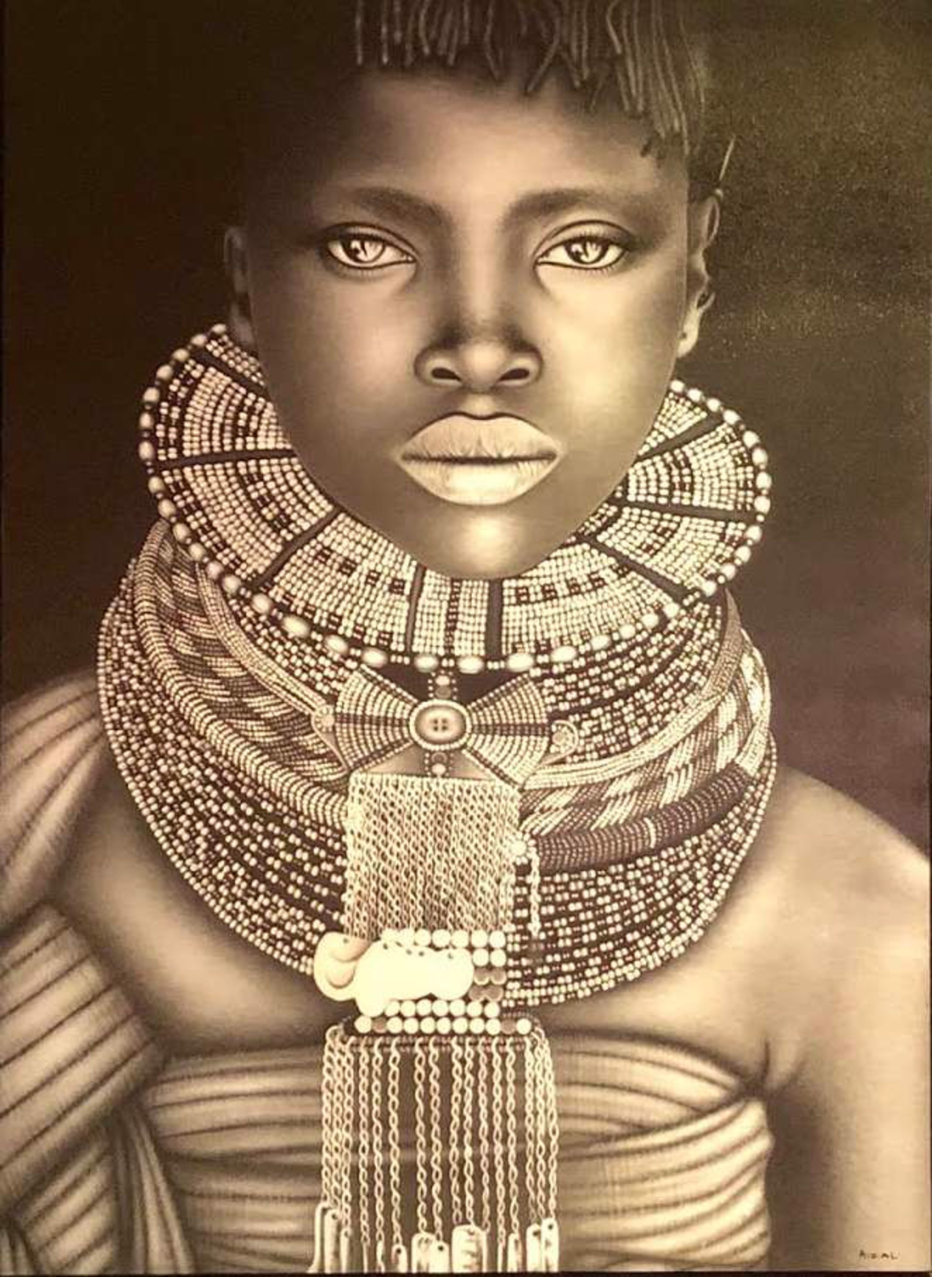 African Bride by Ismed Rizal