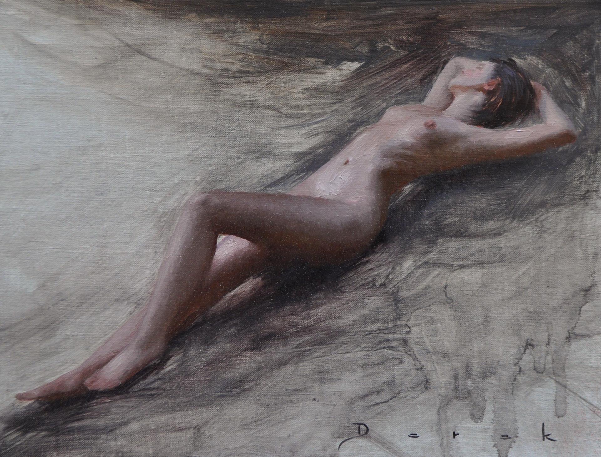 Oudoor Nude by Derek Harrison