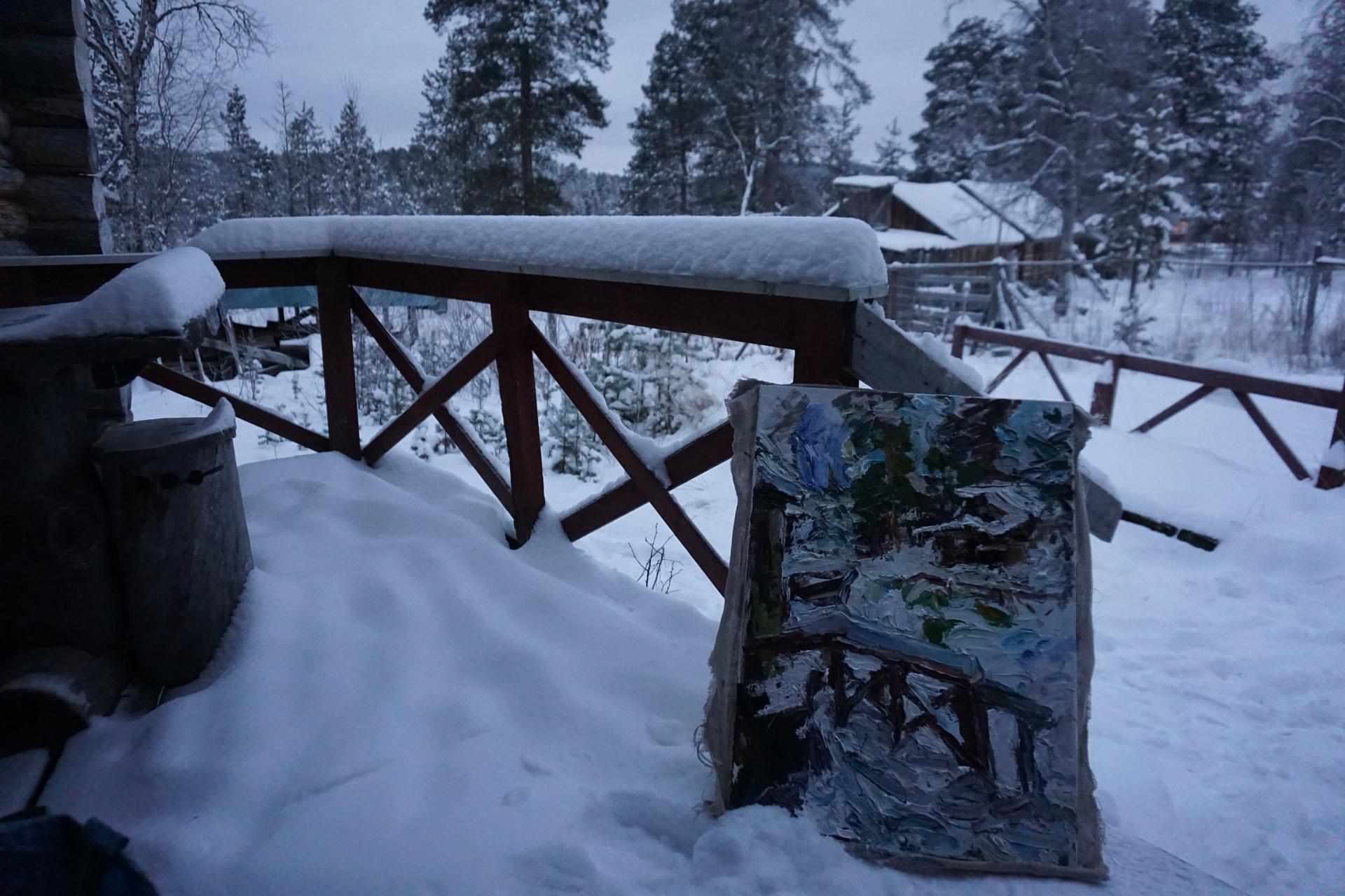 Winter in Finland by Ulrich Gleiter