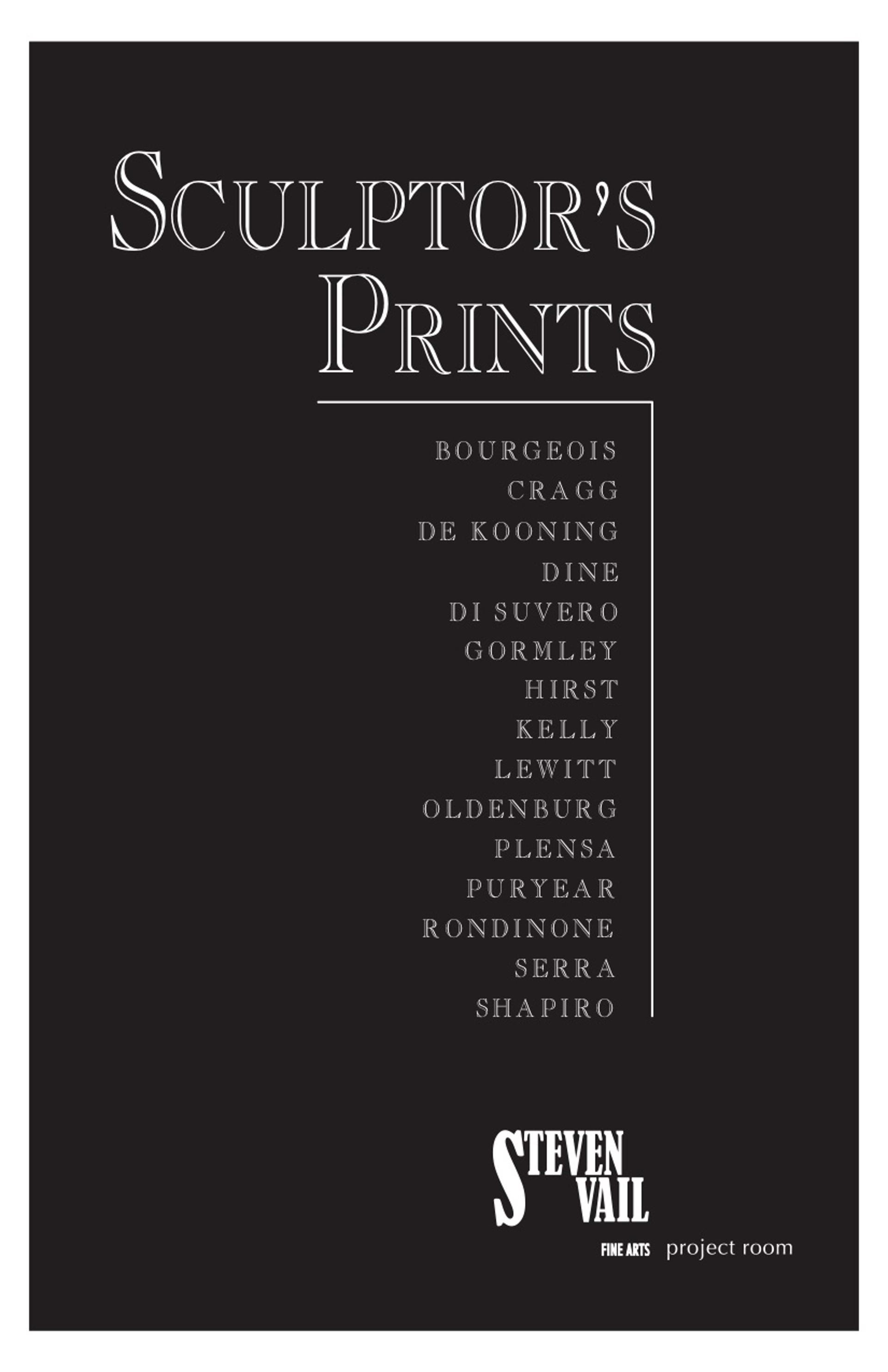 Sculptor's Prints