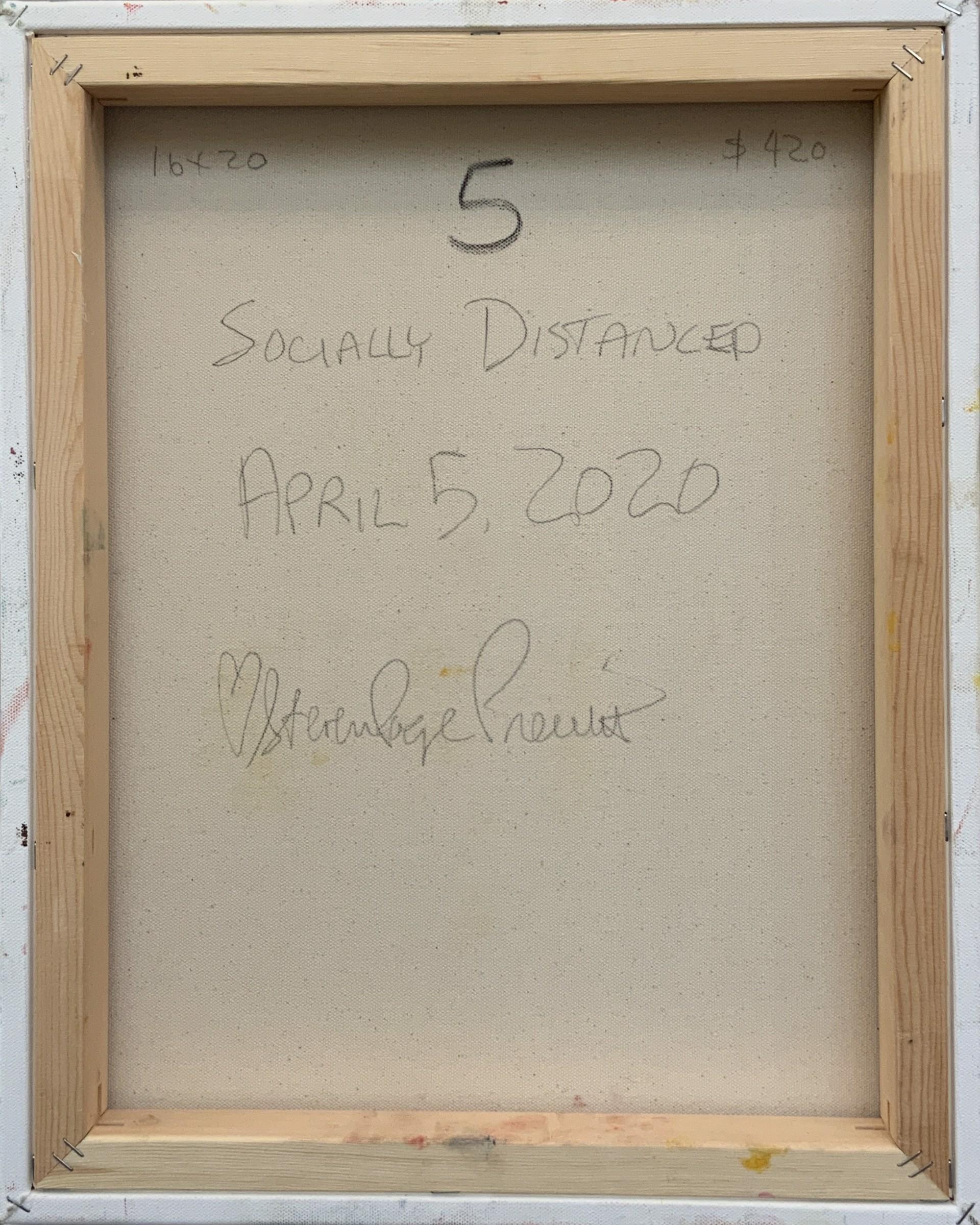 Socially Distanced 5 by stevenpage prewitt
