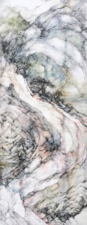 Waggle Dance II (West) by Cindy Shih