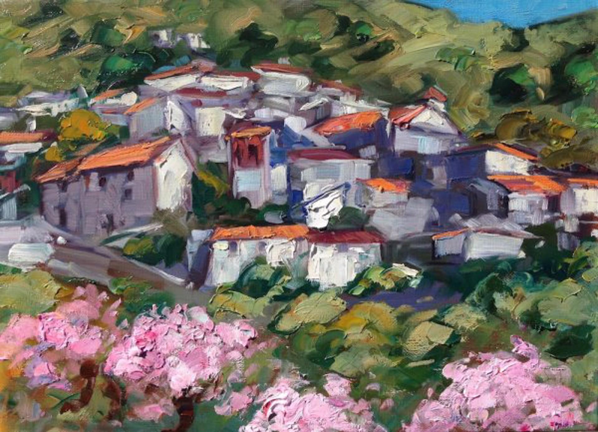 Arenas Cherry Blossoms by Maria Bertrán