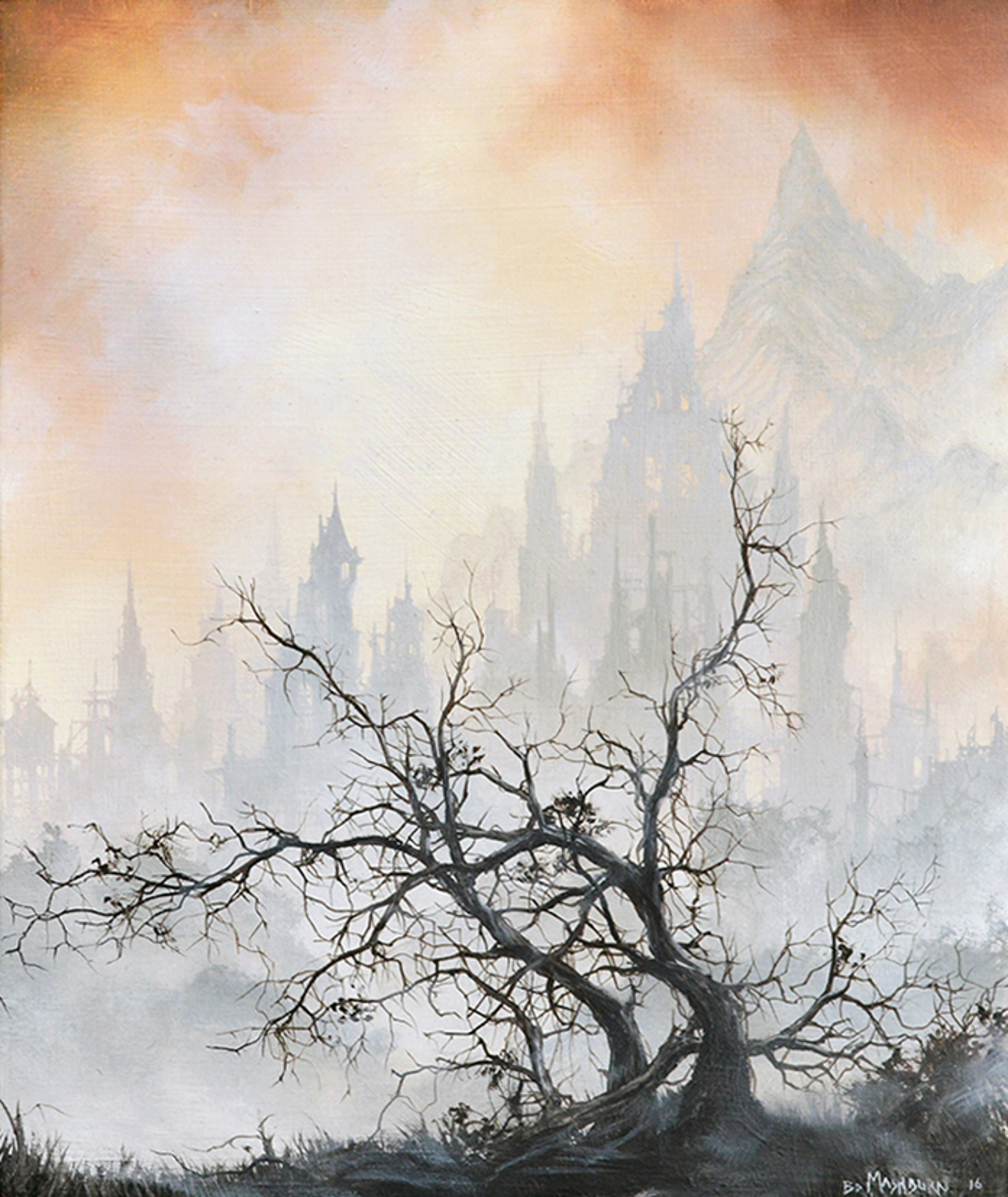 A Small Thicket at the Edge of Town by Brian Mashburn