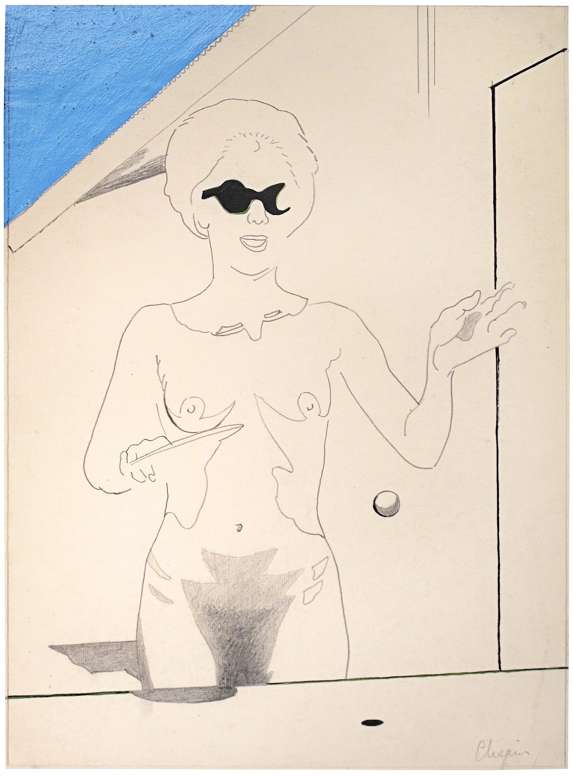 Naked Ping Pong by David Chapin