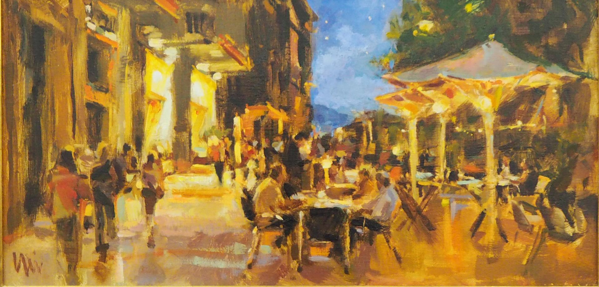 Cafe De Nuit  by Eli Cedrone