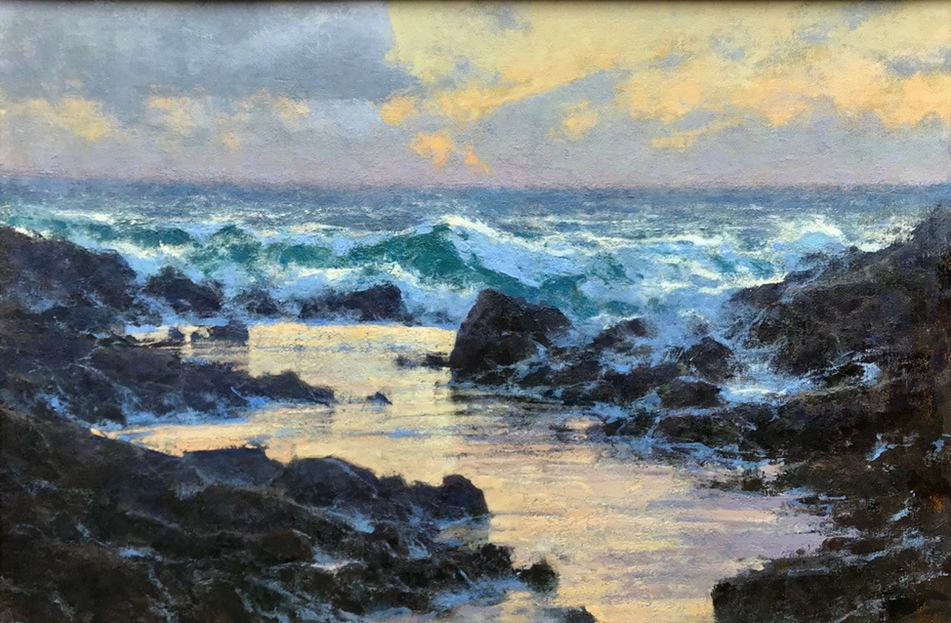 Sea Patterns by Michael J Lynch
