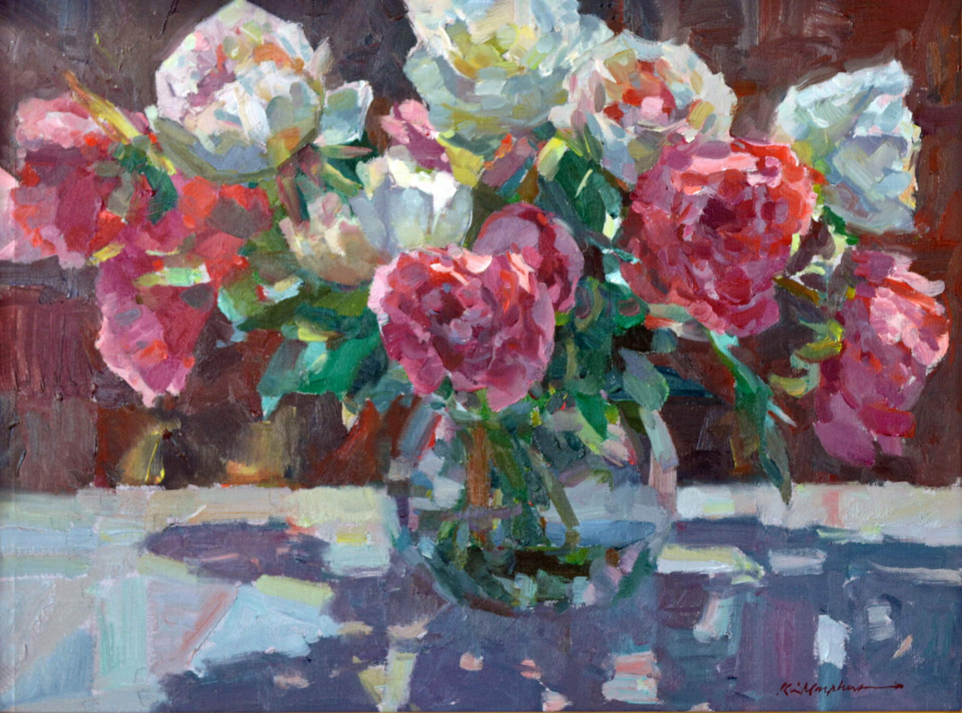Peonies by Kevin Macpherson