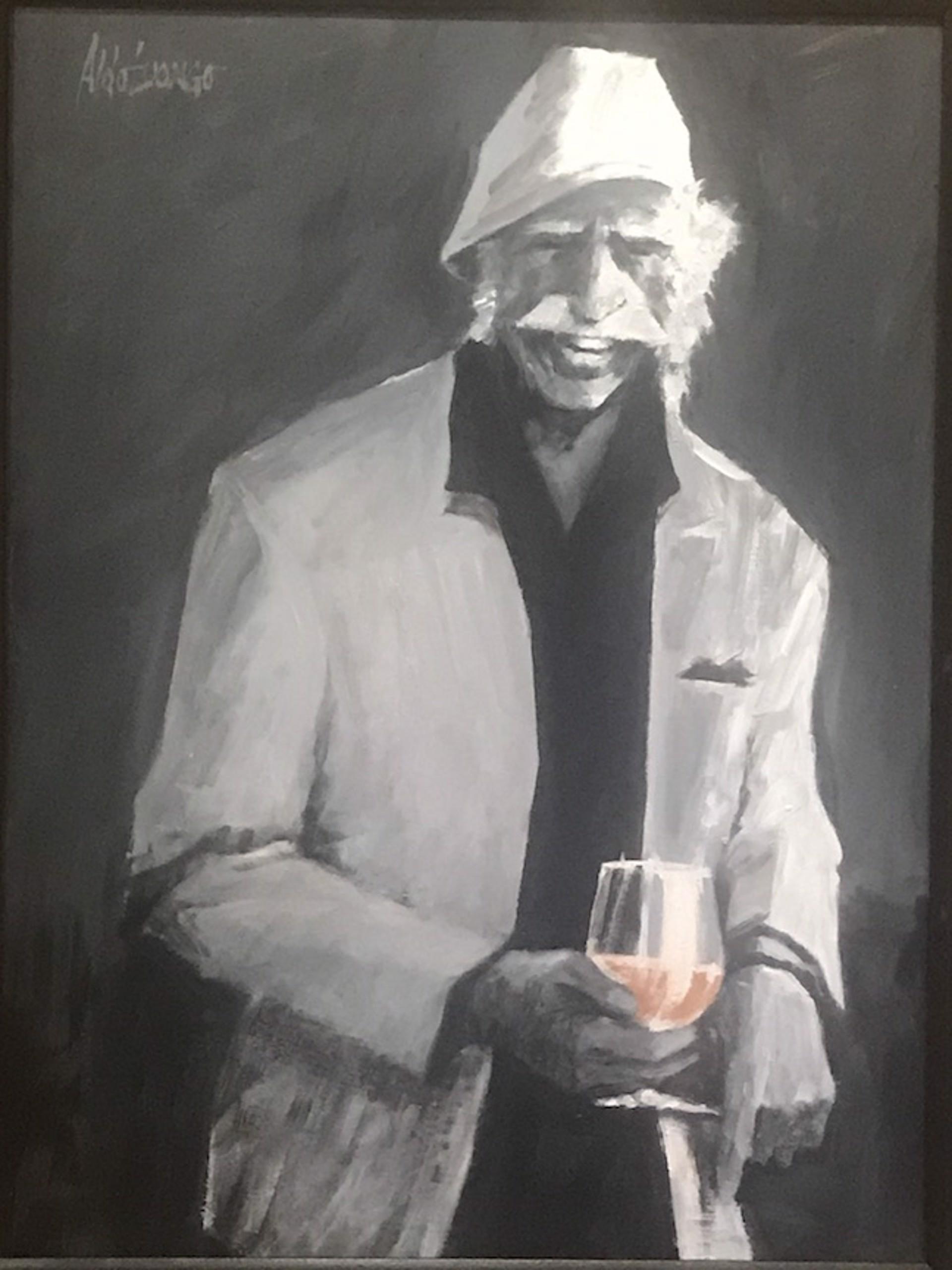 Cognac In The Oak Room by Aldo Luongo