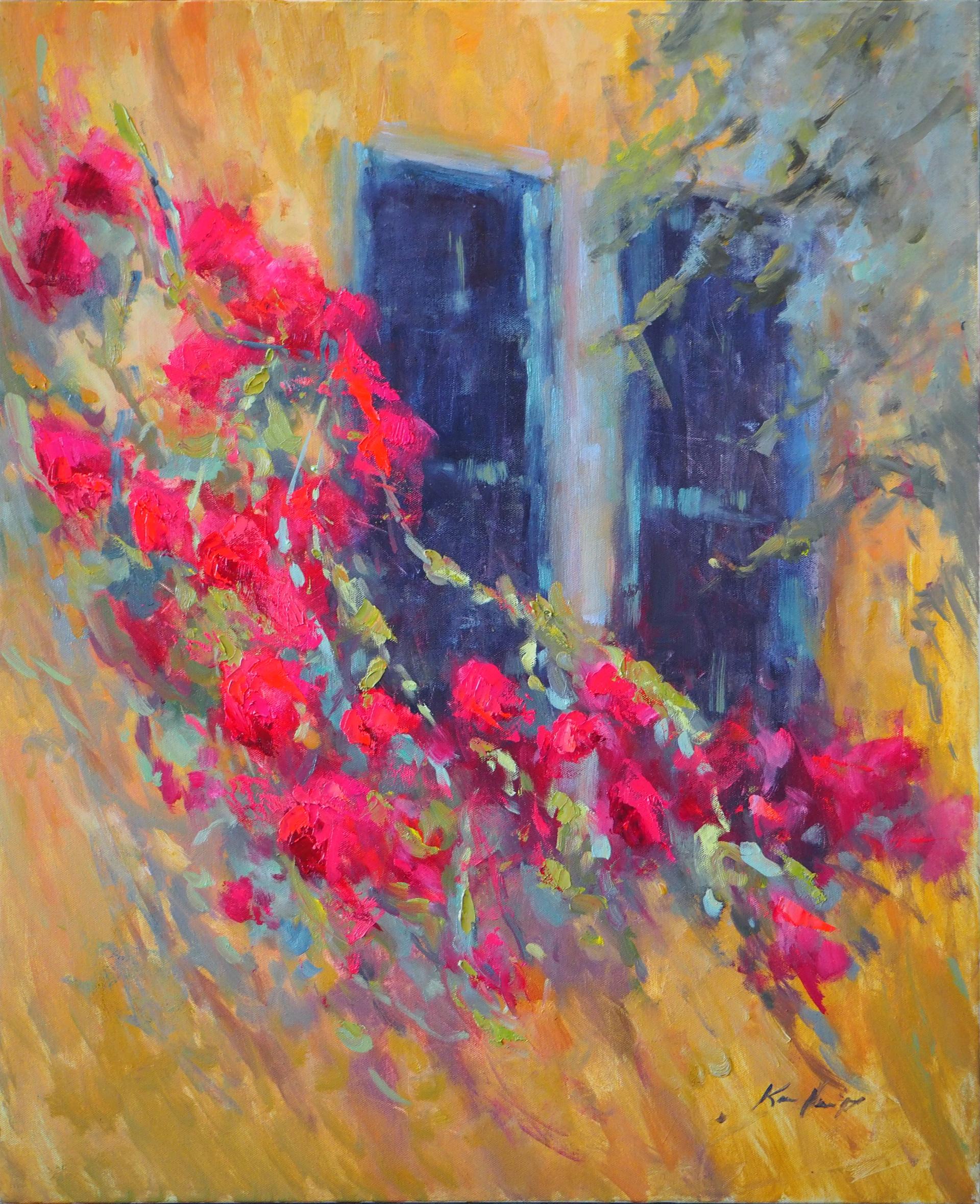 Climbing Roses by Karen Hewitt Hagan
