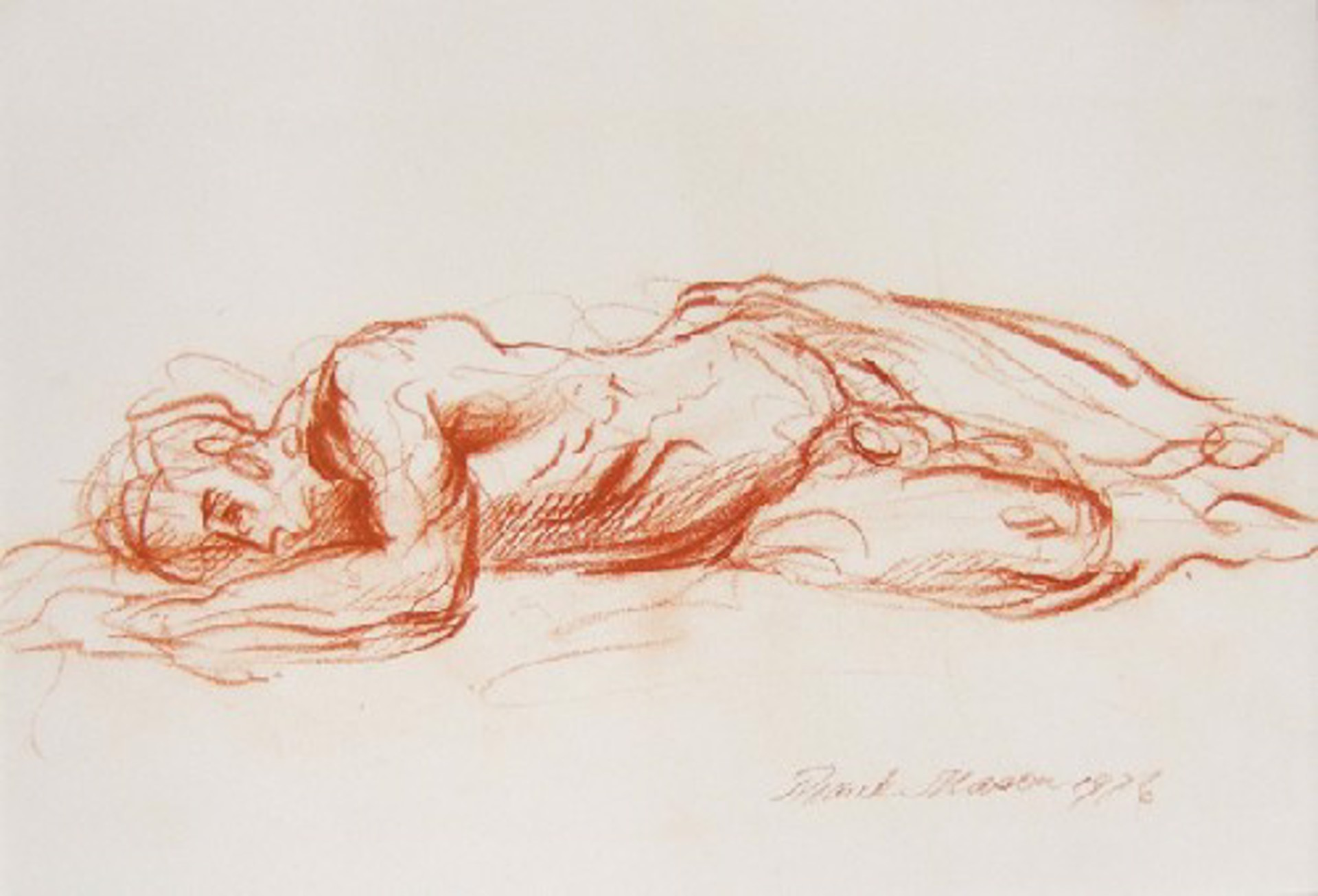 Sleeping Endymion by Frank Mason (1921 - 2009)