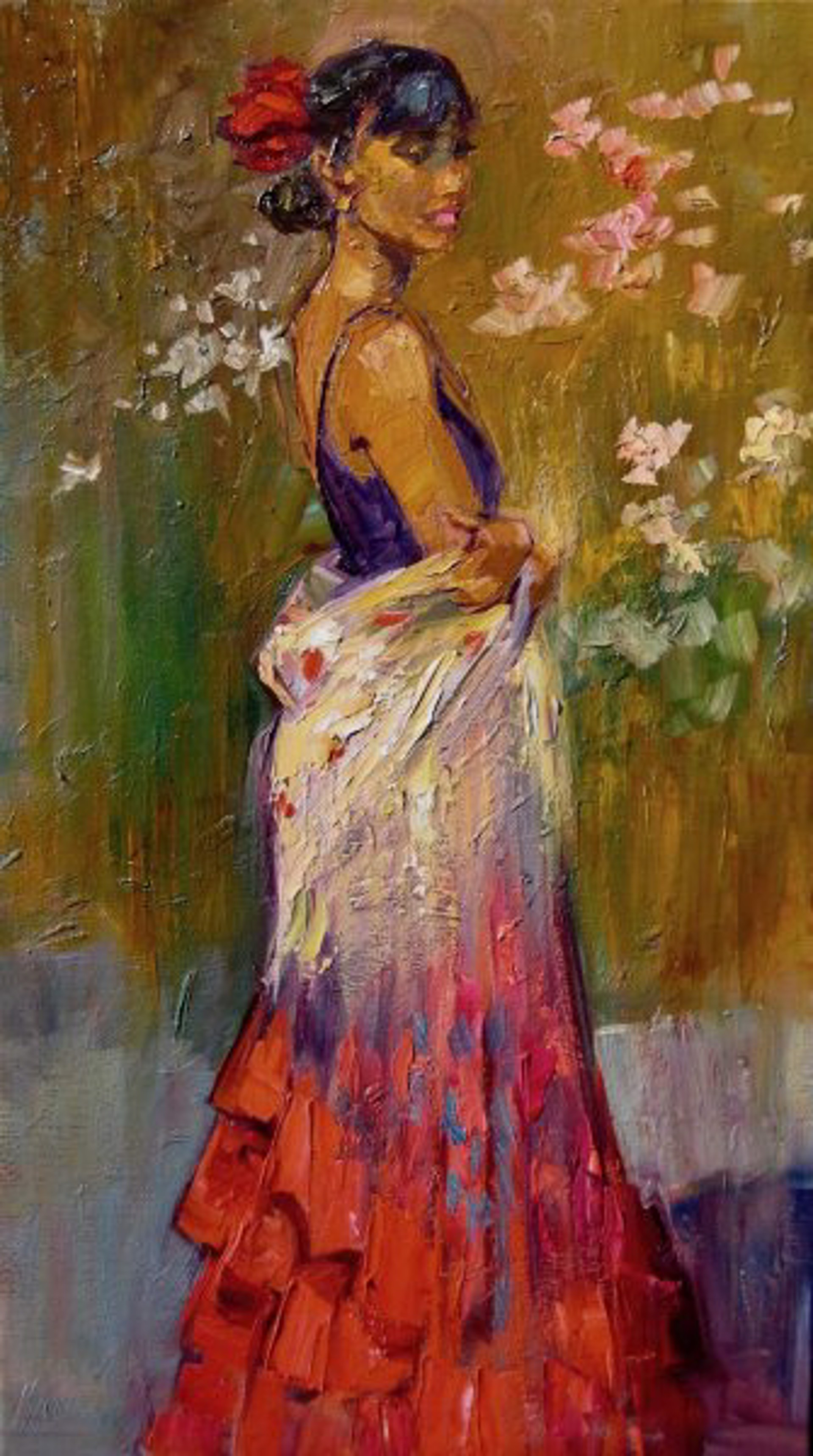 Flamenco Dancer by Maria Bertrán