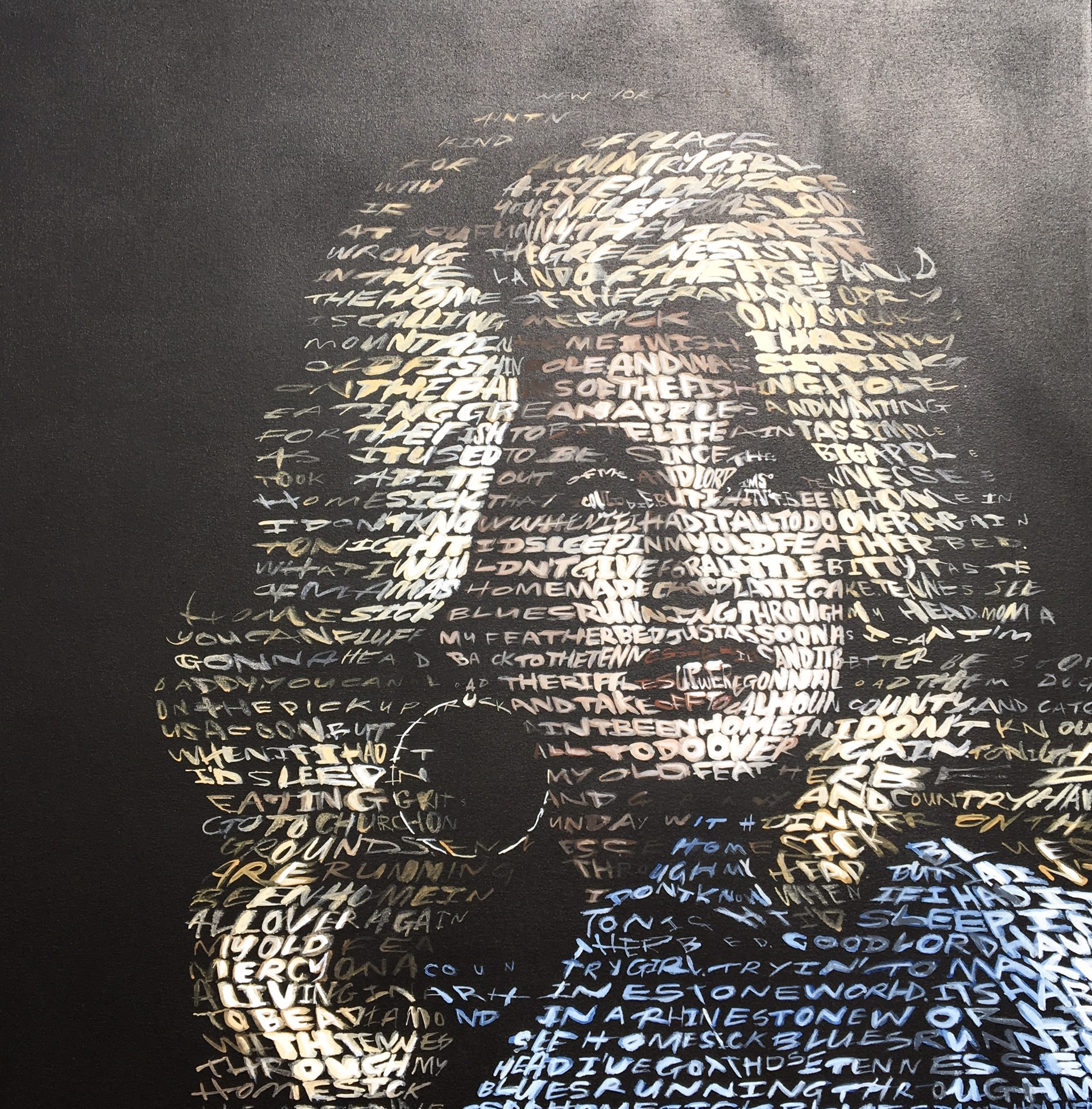 Dolly Parton (Text: Lyrics to Tennesssee Homesick Blues) by David Hollier