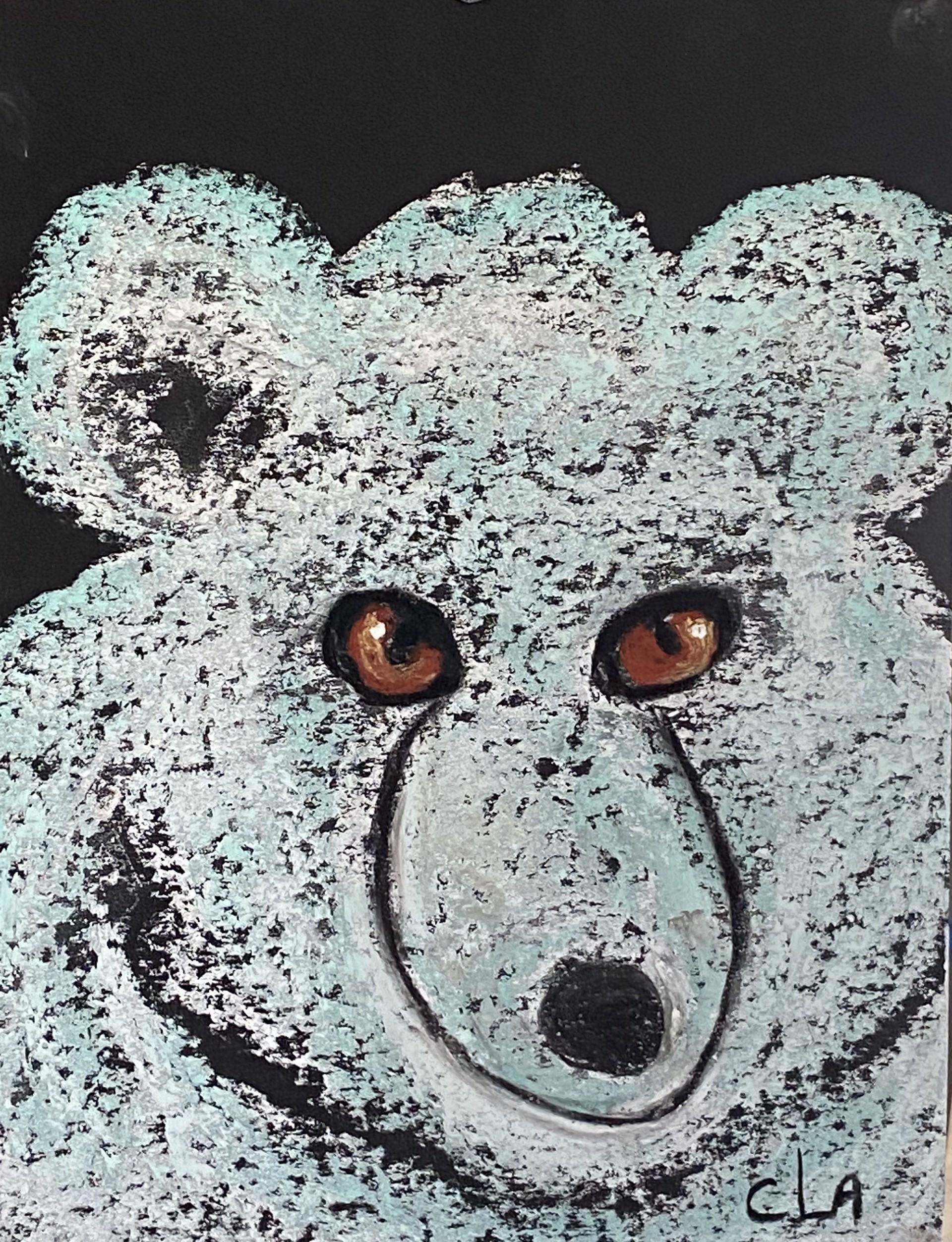 'Fuzzy' Bear by Carole LaRoche