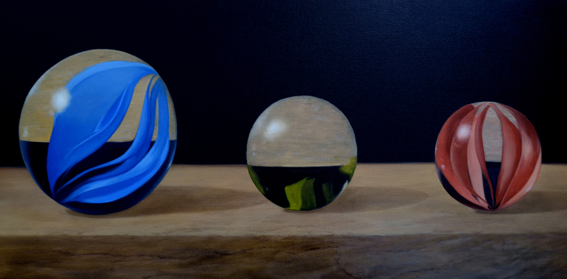Marbles by Jim Molloy