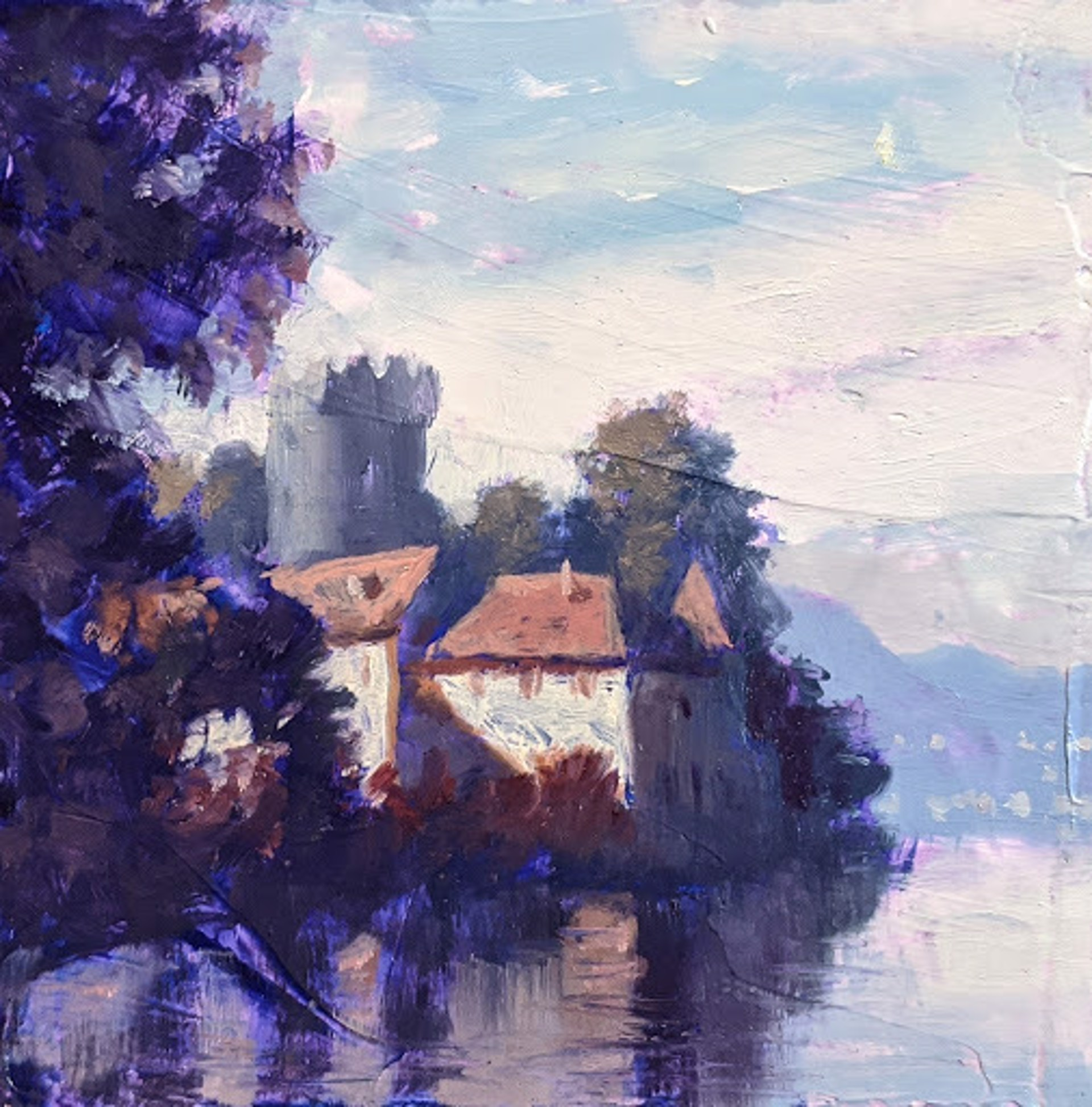 Chateau on the Lake by Christopher Clark