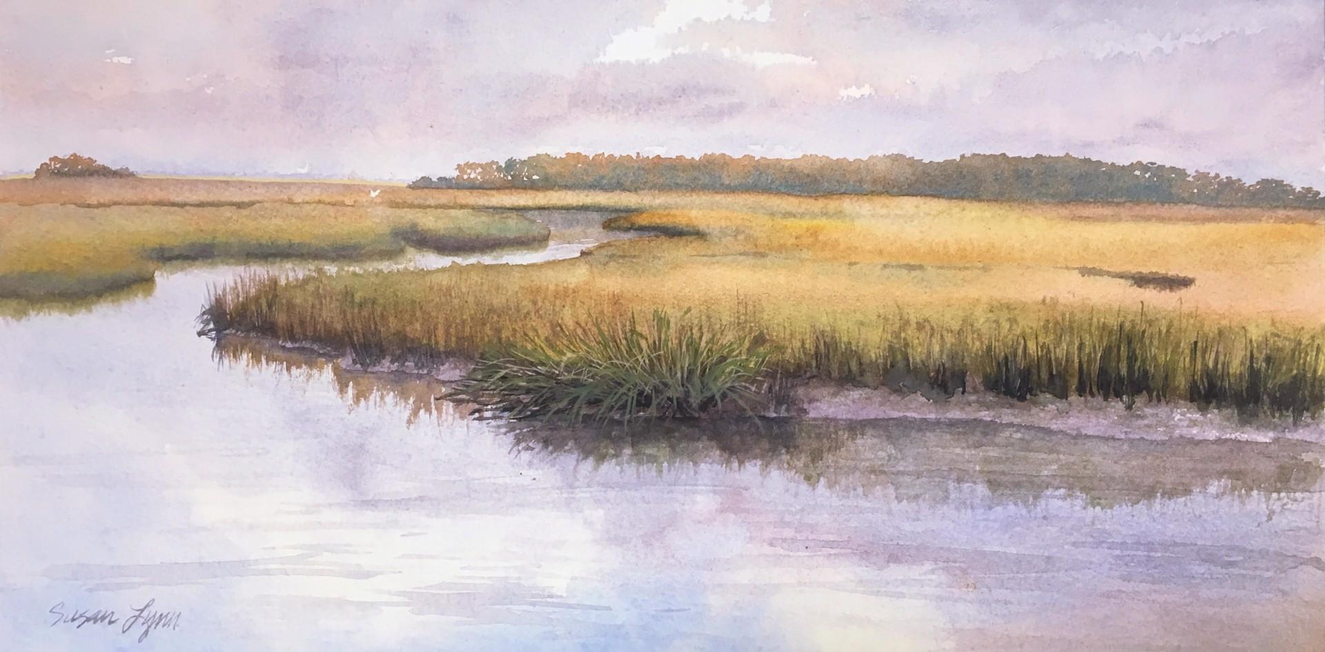 Salt Marsh Stillness by Susan Lynn