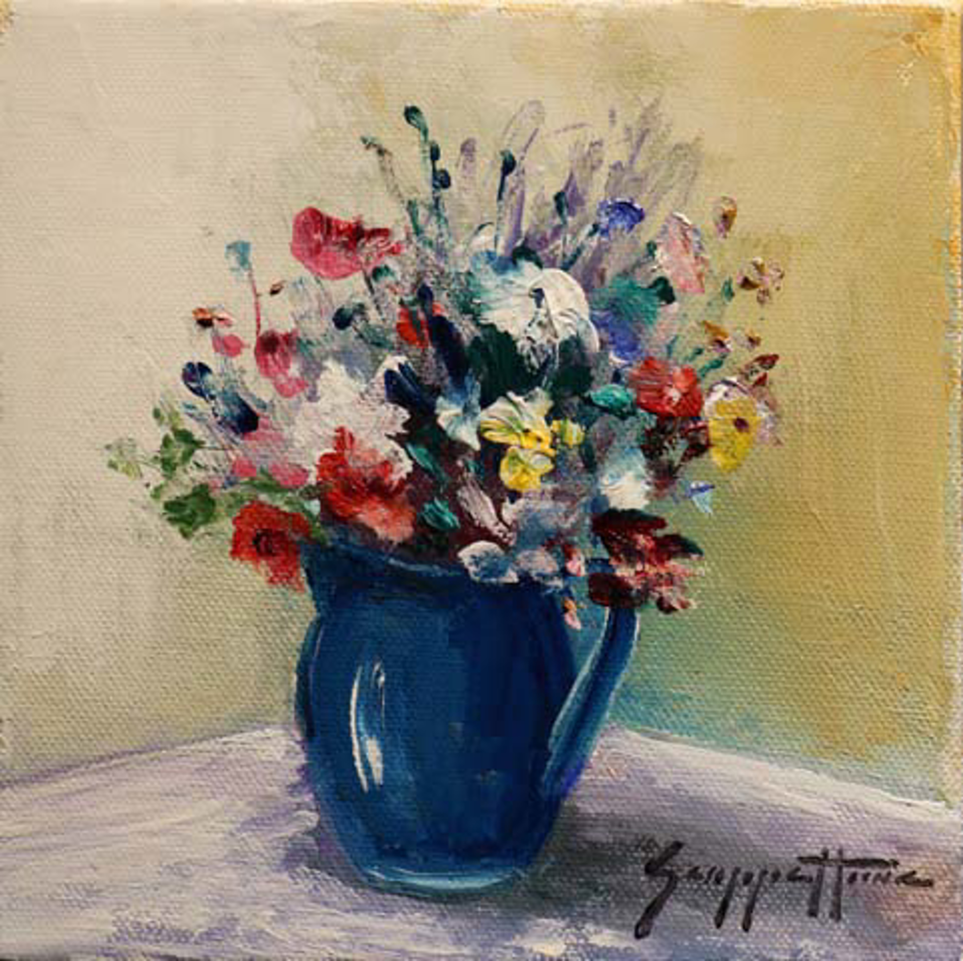 A Summer Bouquet by James Scoppettone