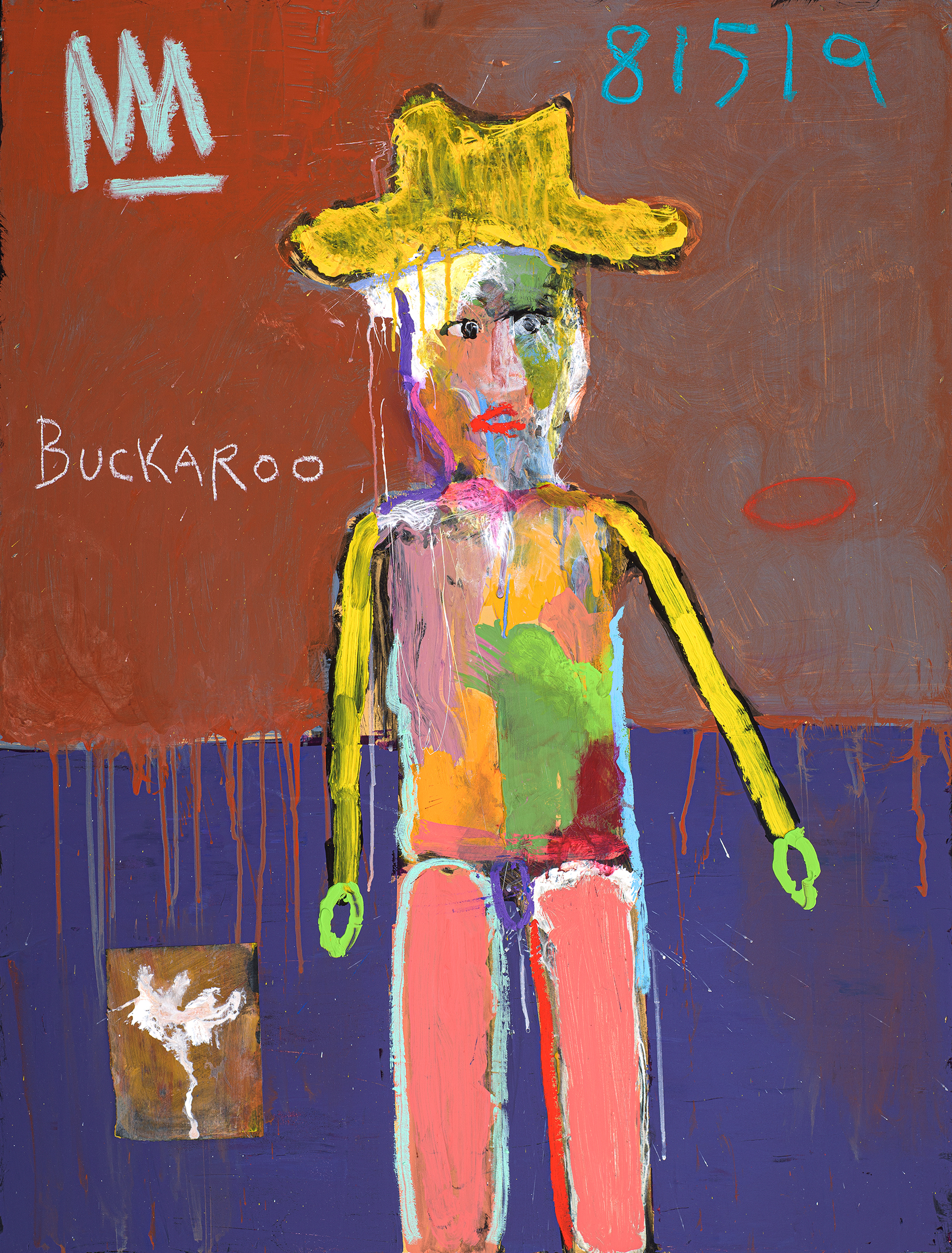 Buckaroo with Pink Chaps by Michael Snodgrass