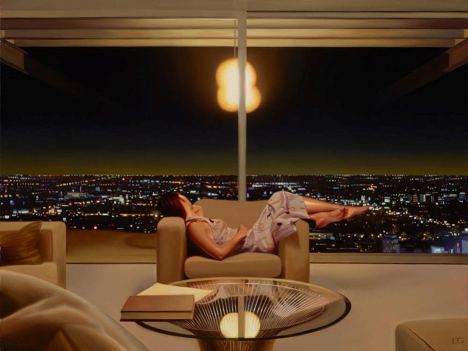 Drifting Through Light, Stahl House (S/N) by Carrie Graber