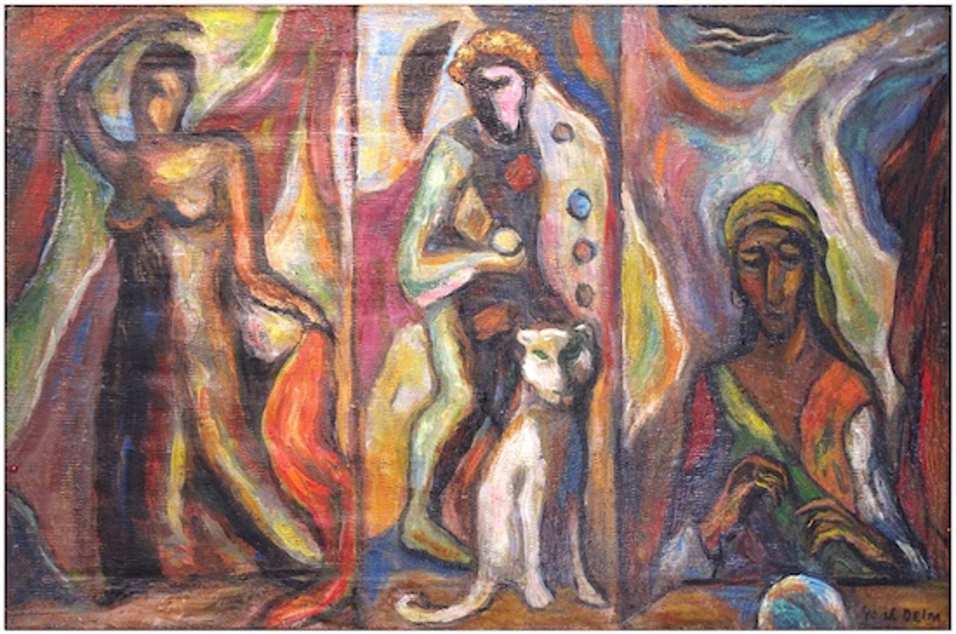 Triptych by Judith Deim