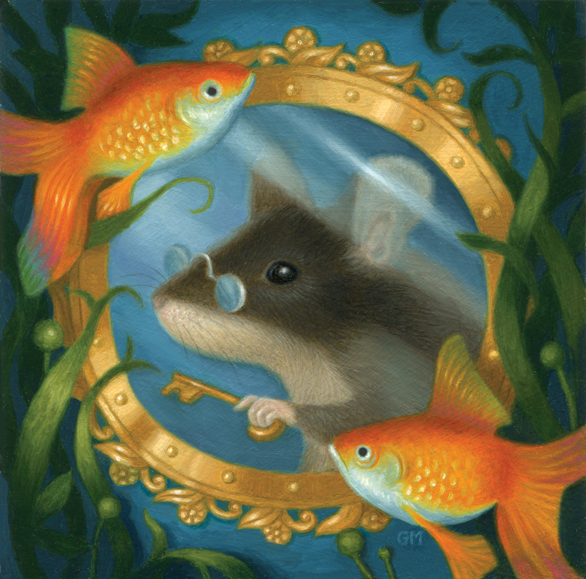 Mouse Explorer Extraordinaire by Gina Matarazzo