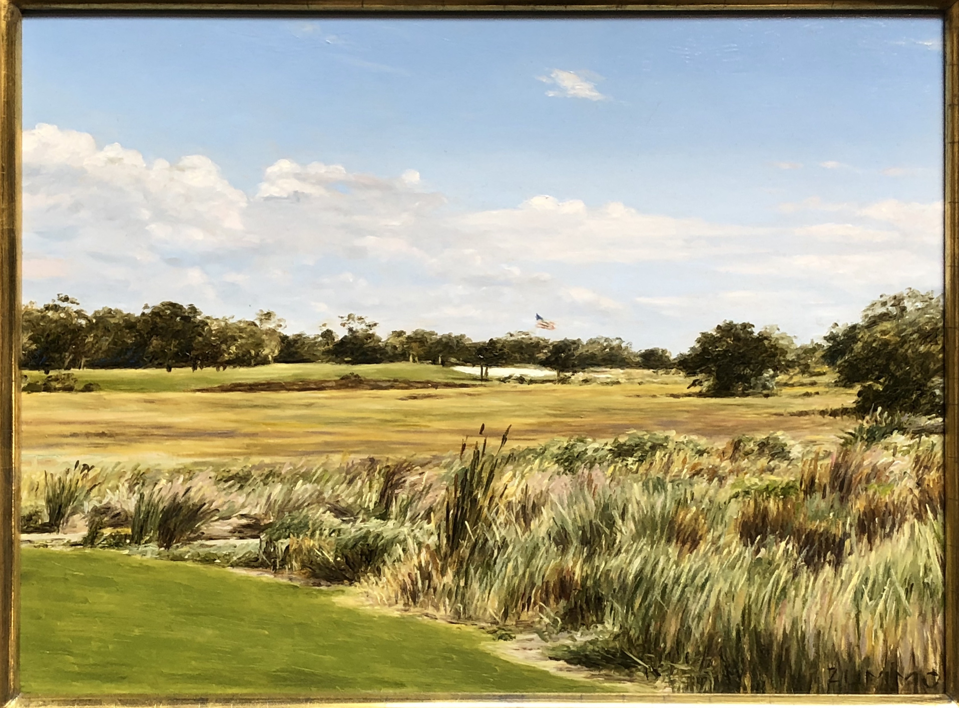 Sea Island Golf Club by Lori Zummo
