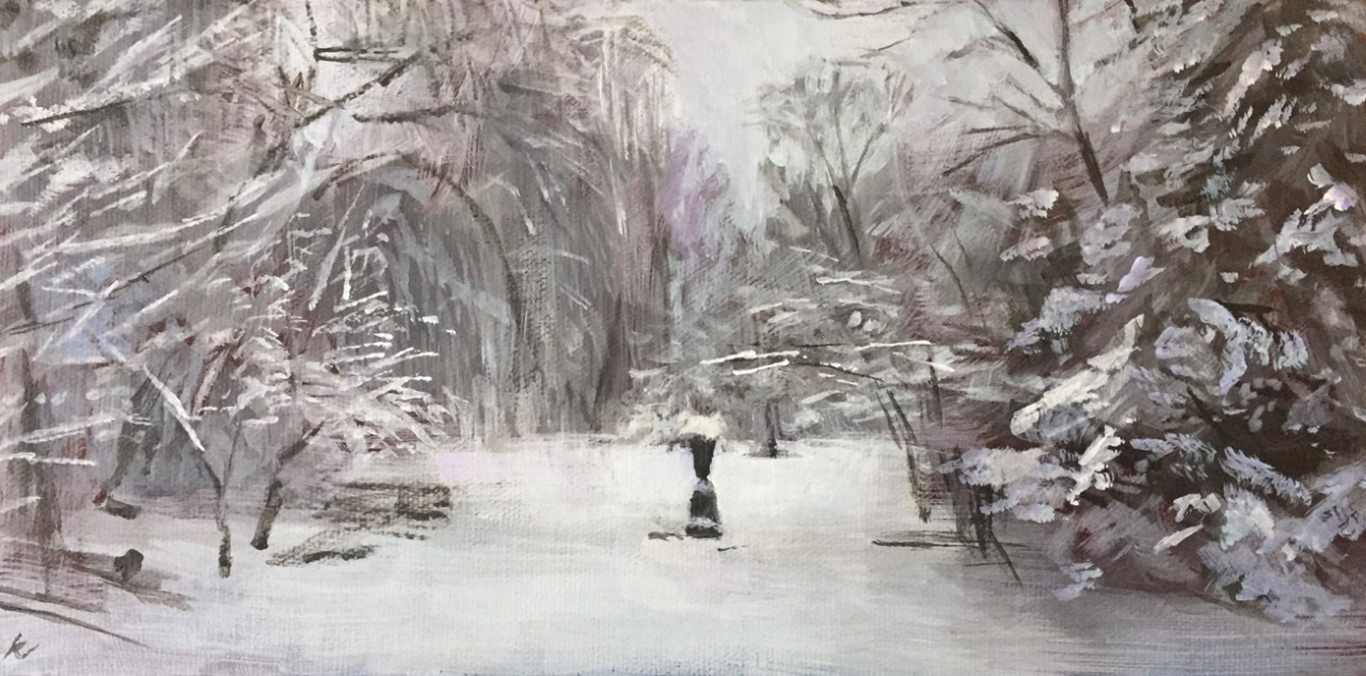 Winter Garden by Kerry Simmons