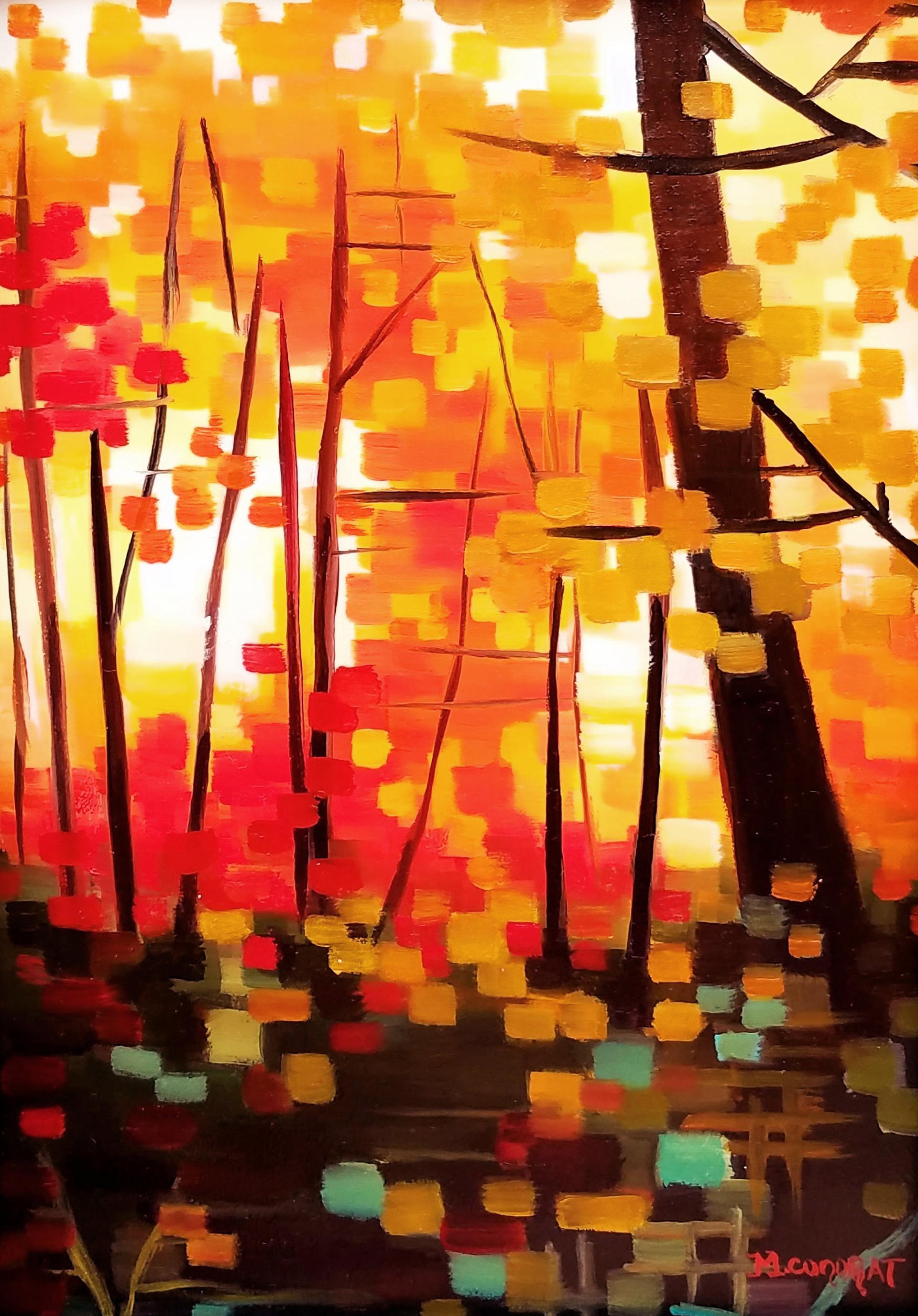 Ablaze with Autumn Colors by Michelle Condrat